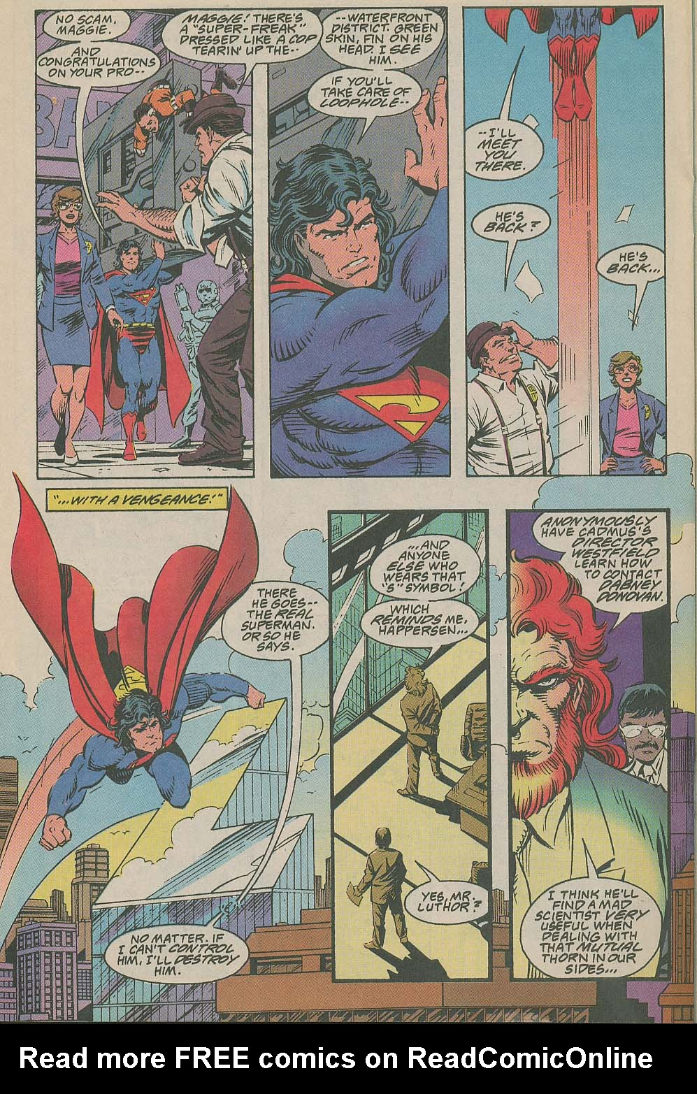 Read online Adventures of Superman (1987) comic -  Issue #505 - 17