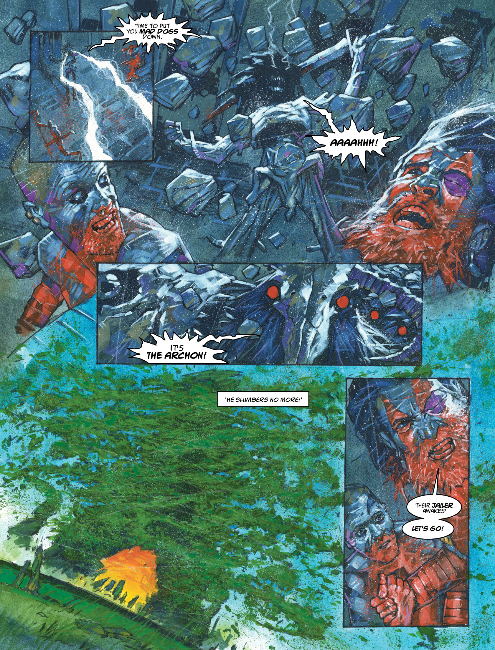 Read online 2000 AD comic -  Issue #1982 - 12