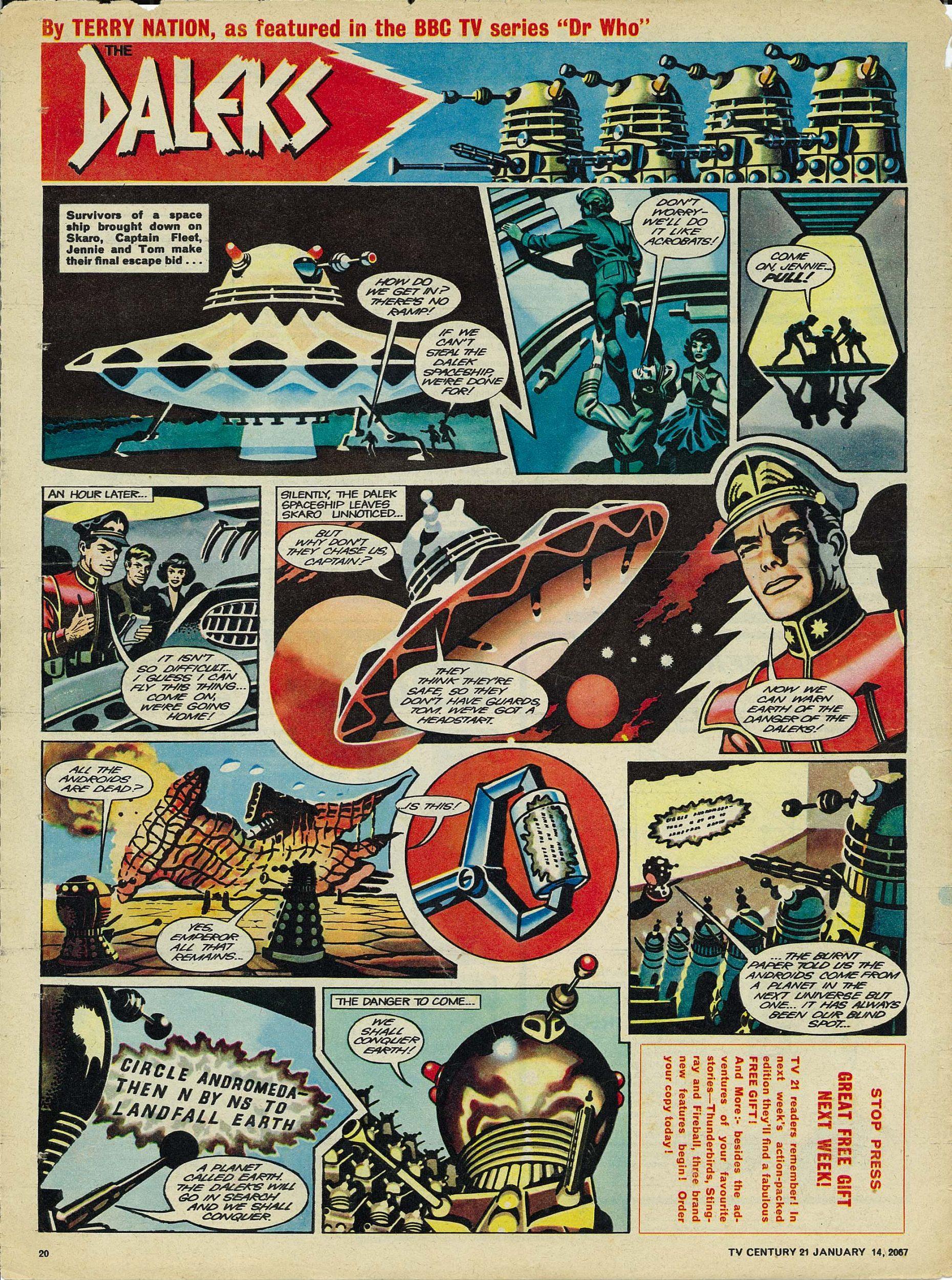 Read online TV Century 21 (TV 21) comic -  Issue #104 - 19