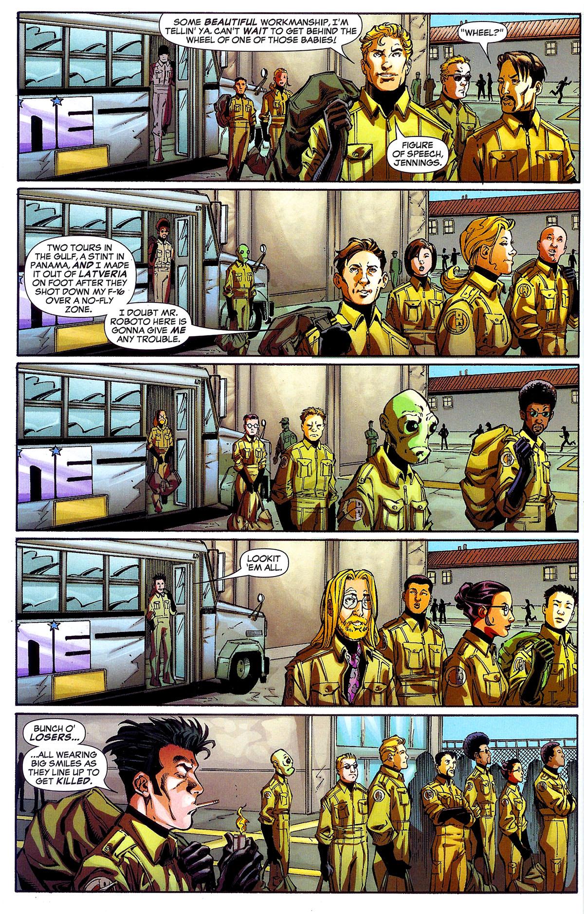 Read online Sentinel Squad O*N*E comic -  Issue #1 - 10