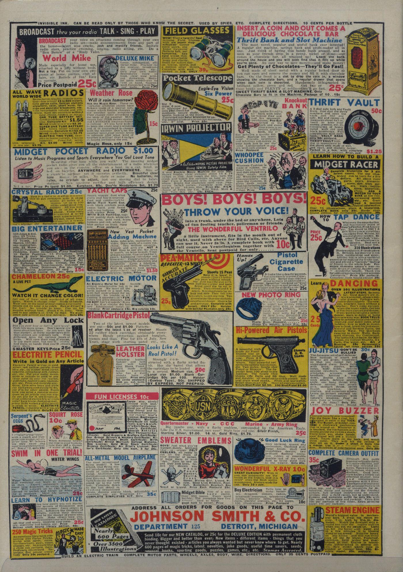 Read online Adventure Comics (1938) comic -  Issue #18 - 70