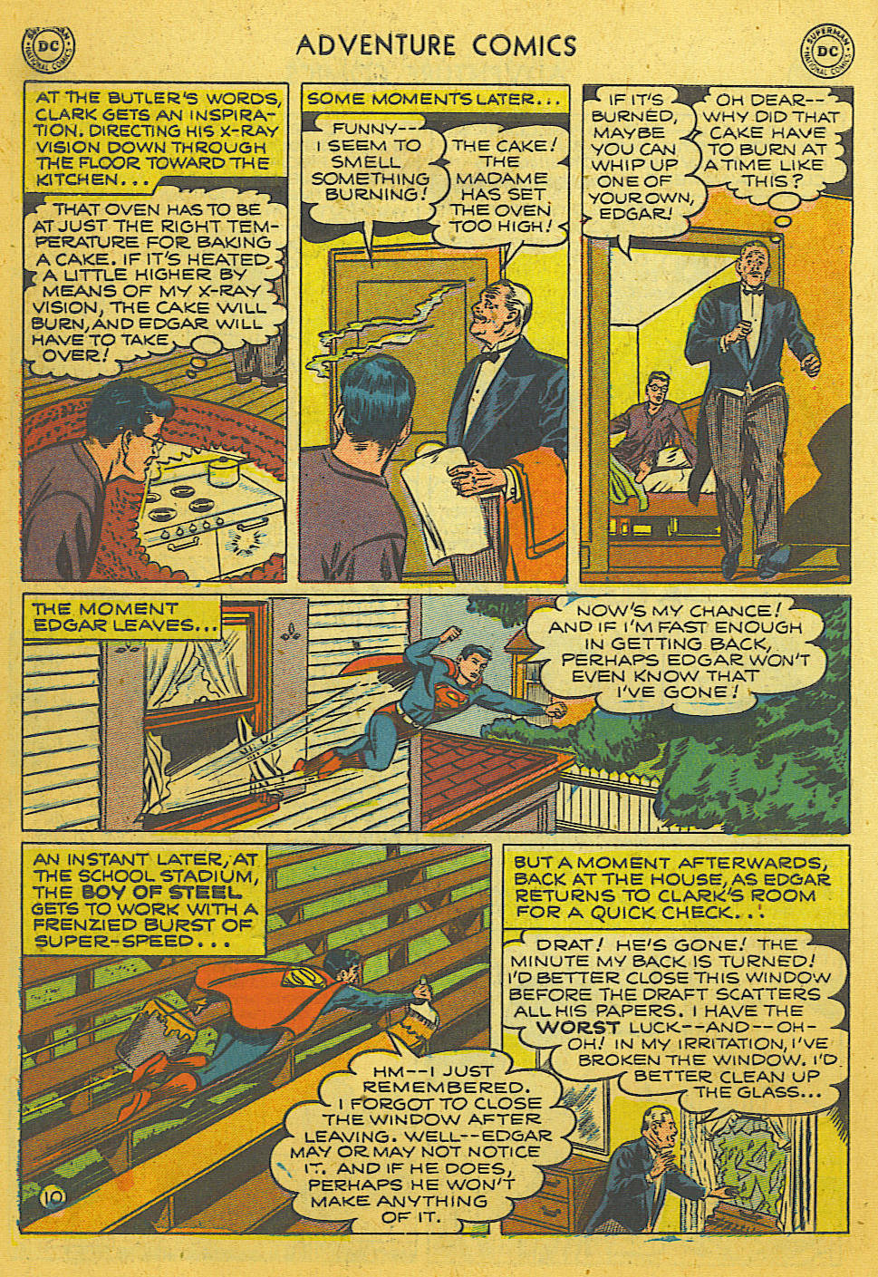 Read online Adventure Comics (1938) comic -  Issue #169 - 11