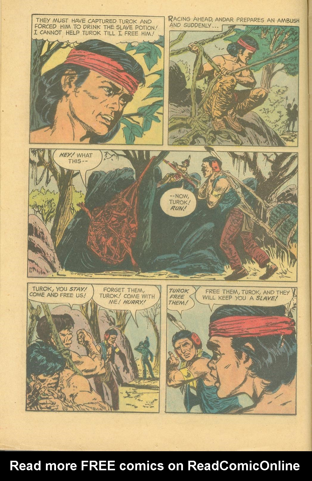 Read online Turok, Son of Stone comic -  Issue #28 - 12