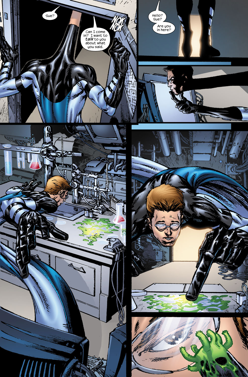 Read online Ultimate Fantastic Four (2004) comic -  Issue #56 - 11