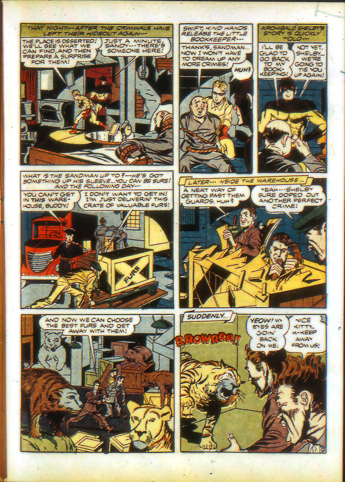 Read online Adventure Comics (1938) comic -  Issue #89 - 11