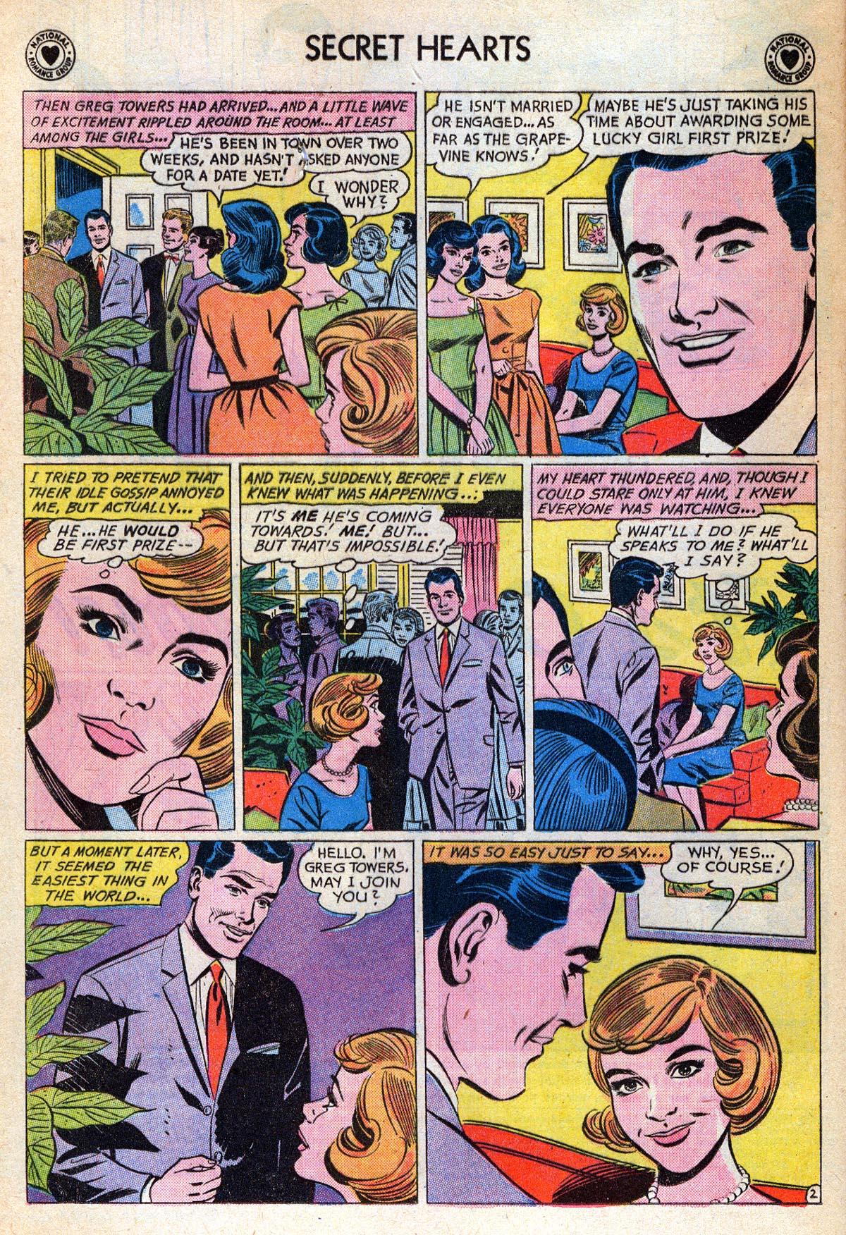 Read online Secret Hearts comic -  Issue #76 - 4