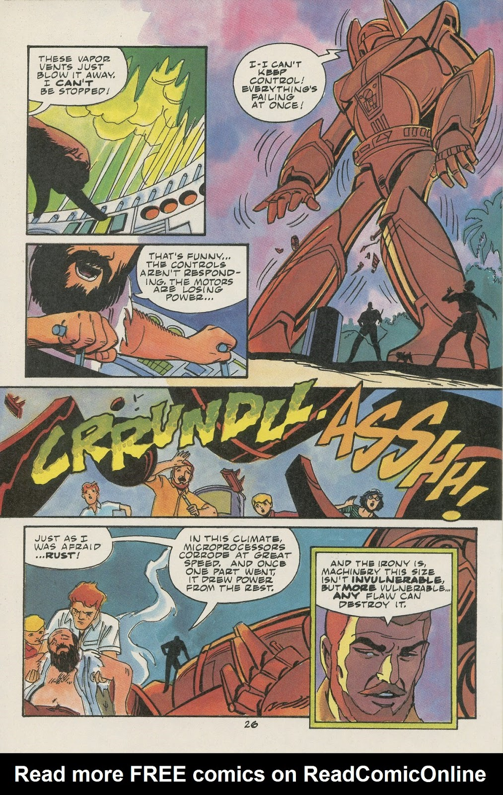 Jonny Quest (1986) issue 17 - Page 28