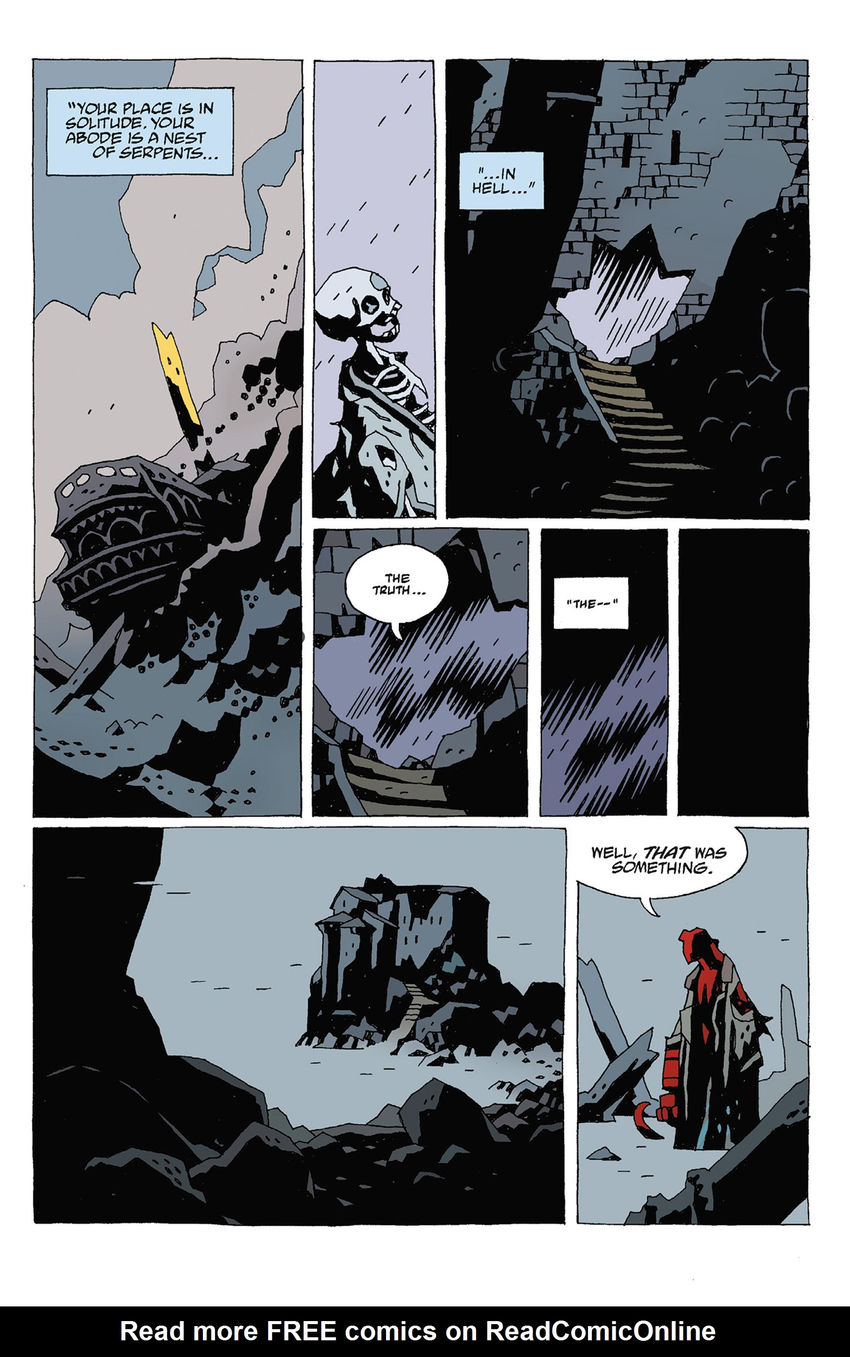 Read online Hellboy: Strange Places comic -  Issue # TPB - 123