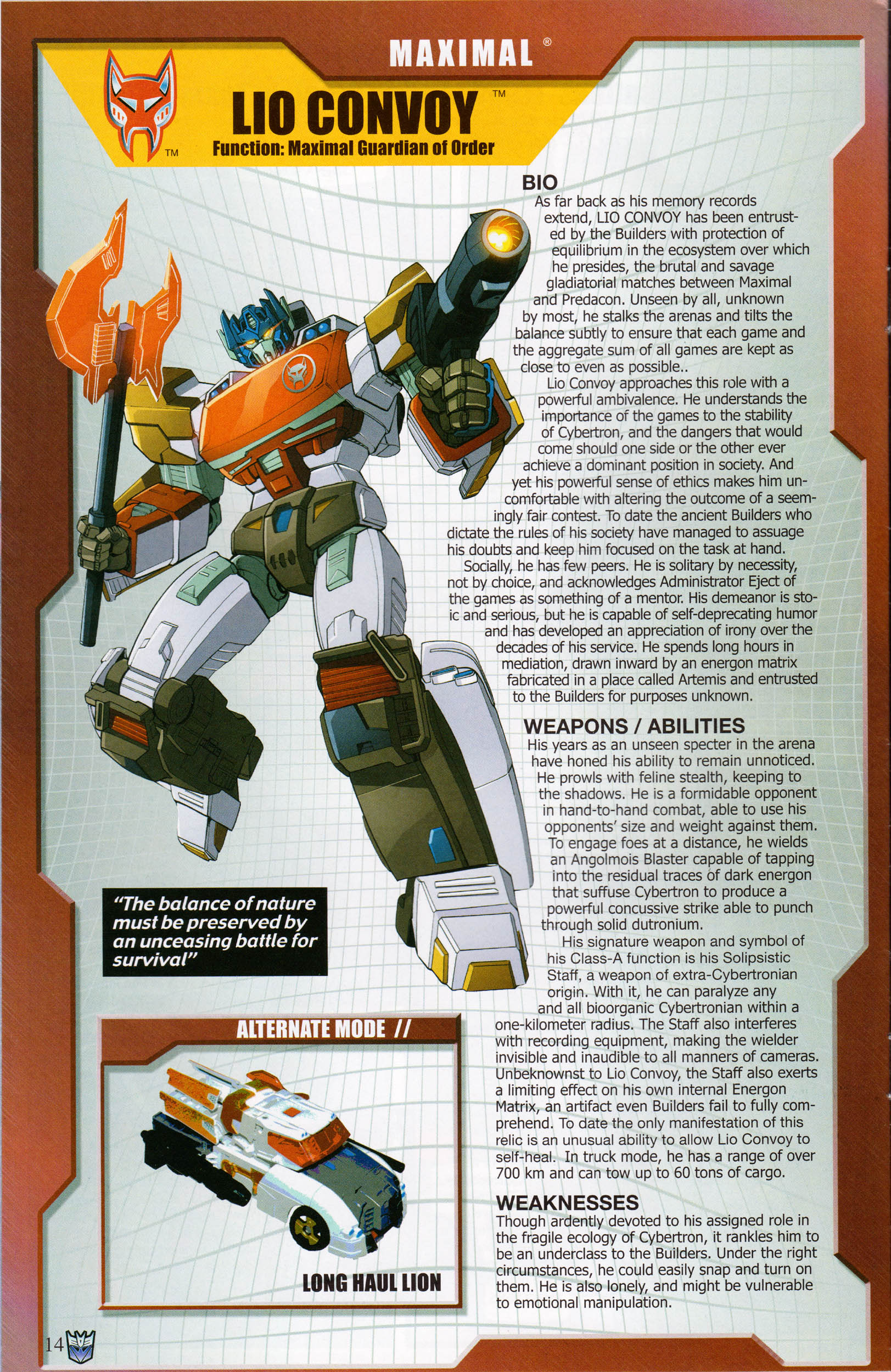 Read online Transformers: Collectors' Club comic -  Issue #61 - 14