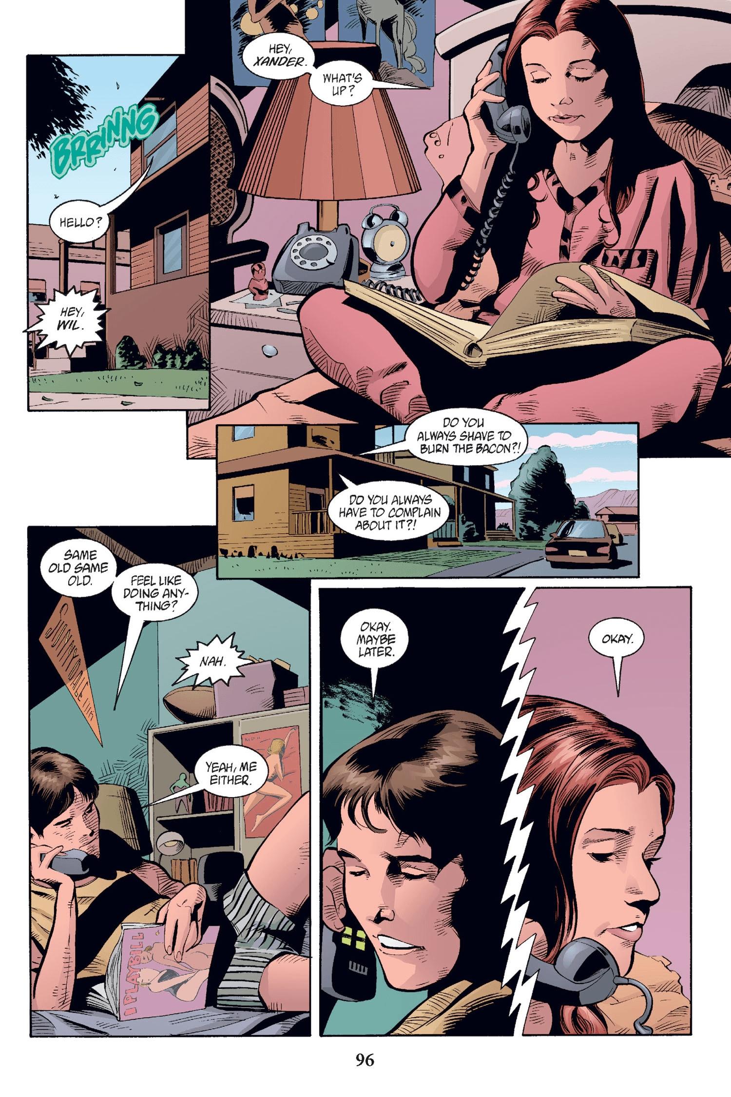Read online Buffy the Vampire Slayer: Omnibus comic -  Issue # TPB 2 - 93