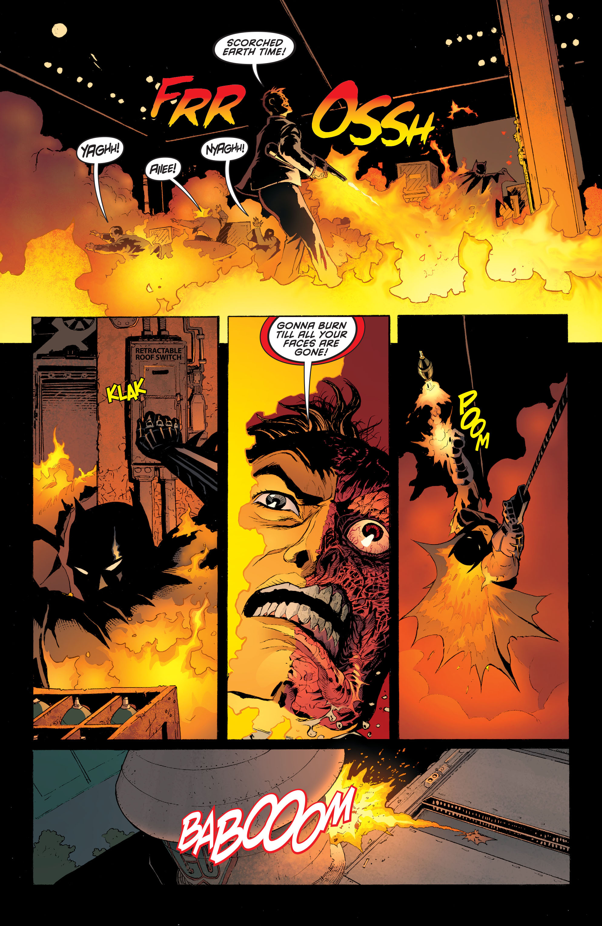 Read online Batman and Robin (2011) comic -  Issue #28 - Batman and Two-Face - 9