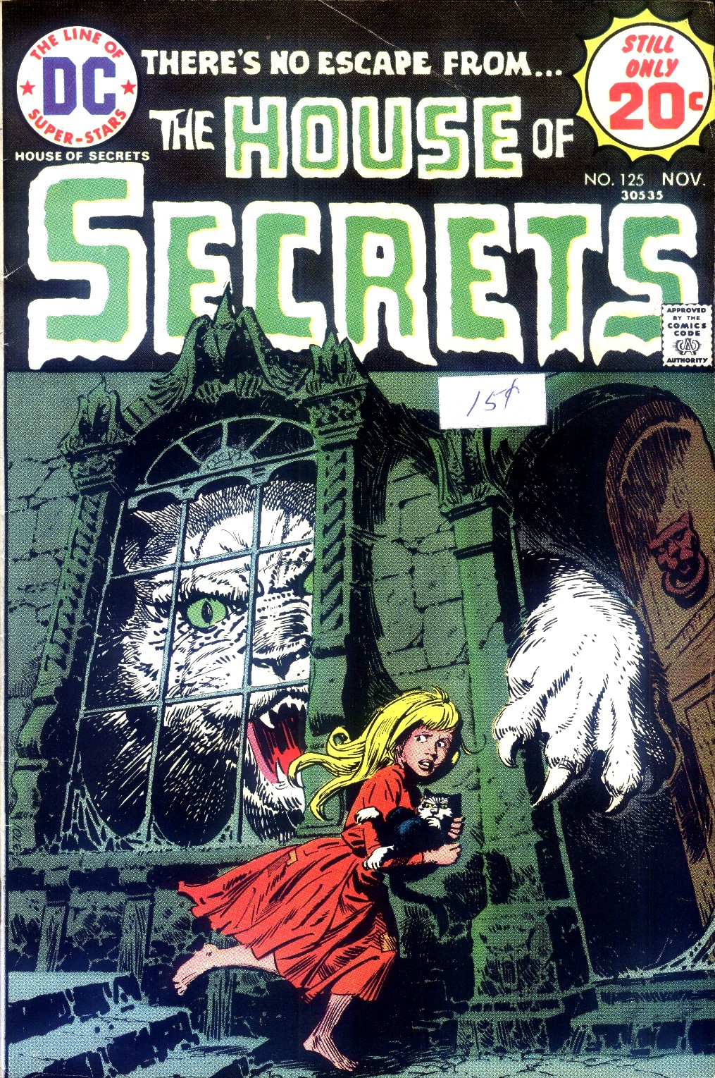 House of Secrets (1956) issue 125 - Page 1