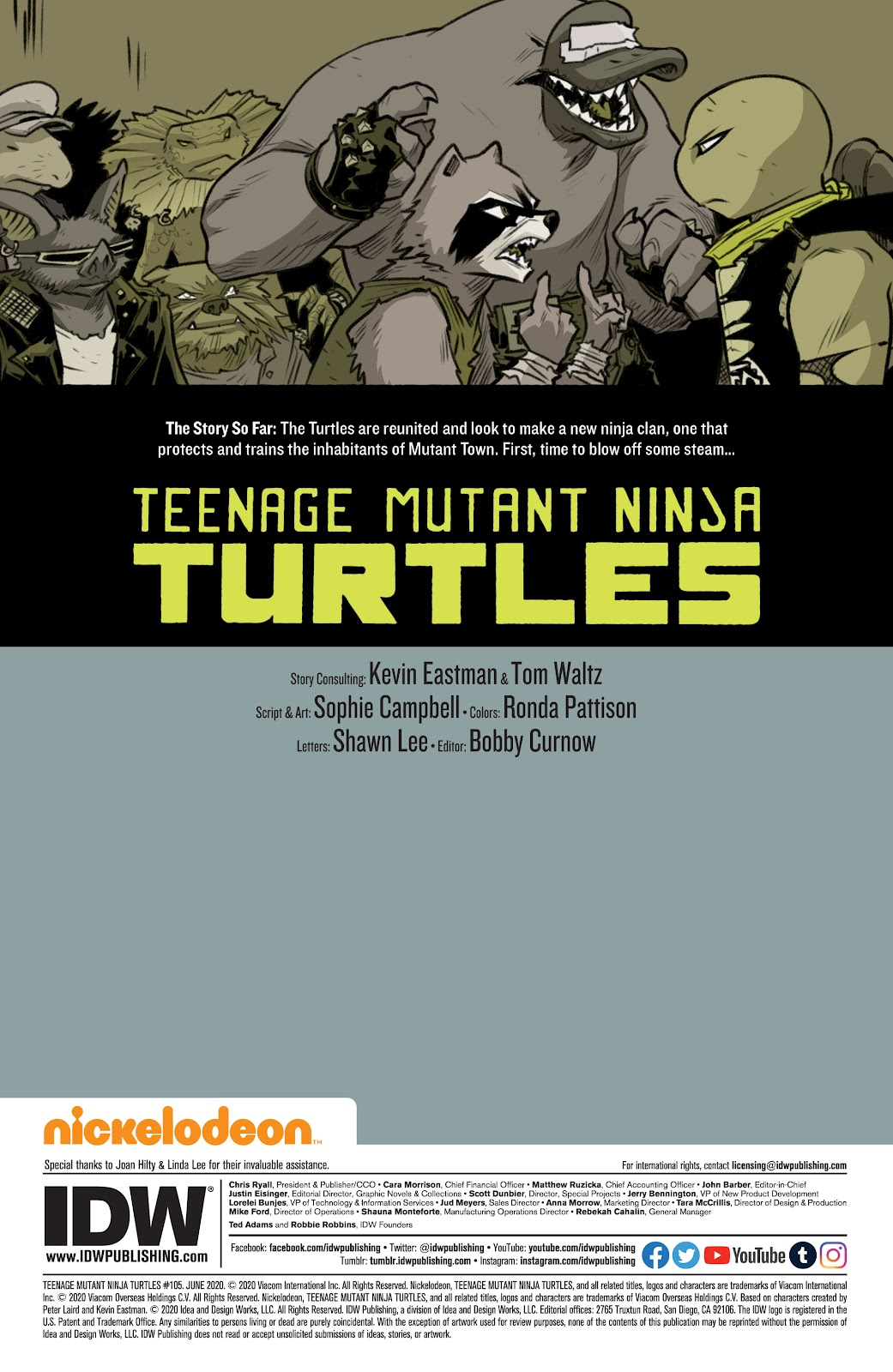 Read online Teenage Mutant Ninja Turtles (2011) comic -  Issue #105 - 2