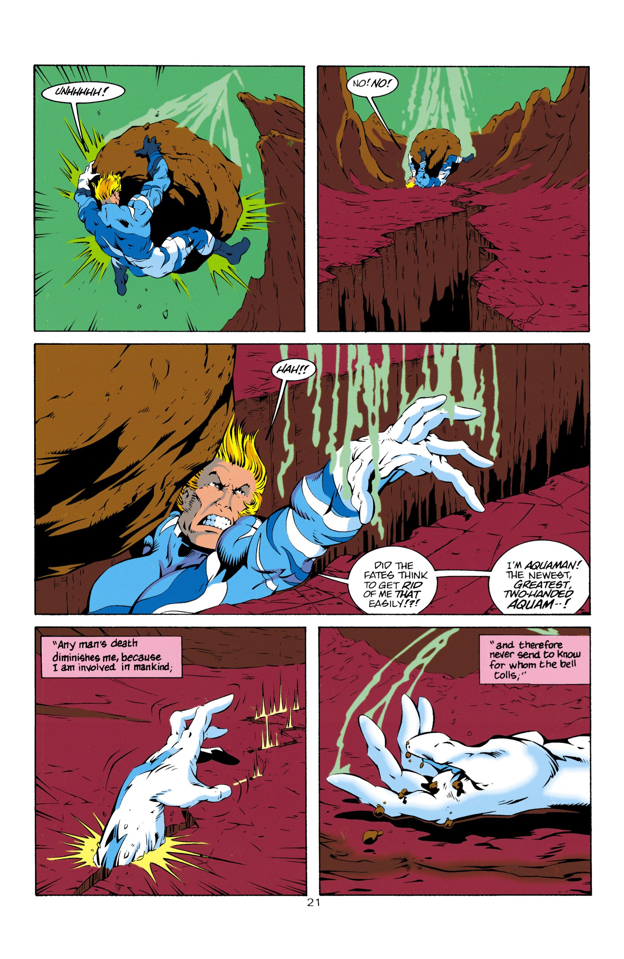 Read online Aquaman (1994) comic -  Issue #14 - 22