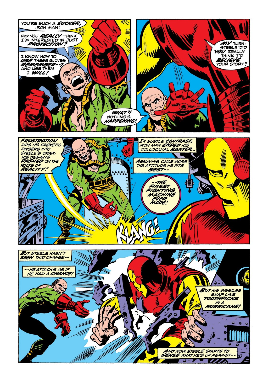 Read online Marvel Masterworks: The Invincible Iron Man comic -  Issue # TPB 9 (Part 2) - 71