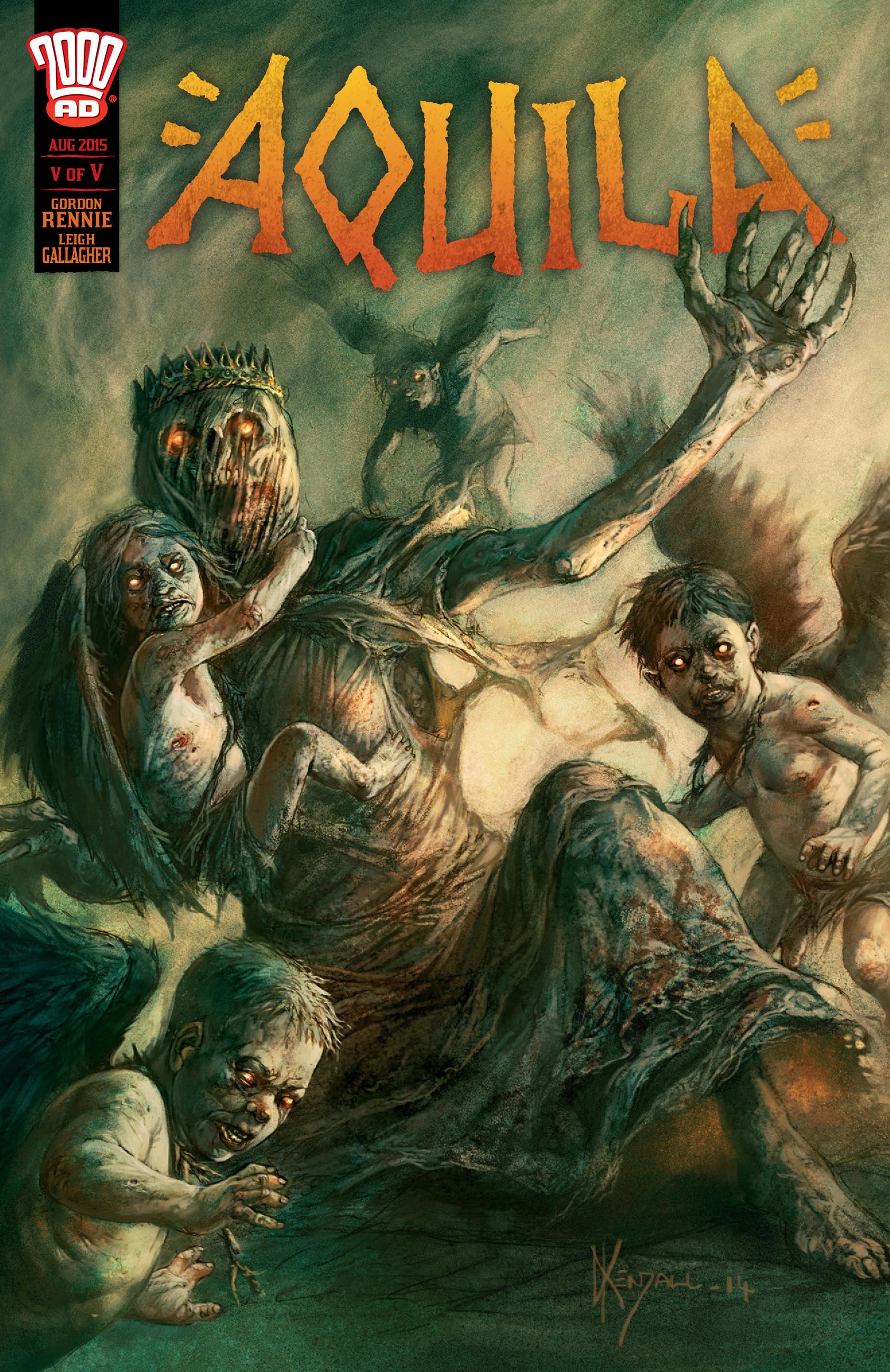 Read online Aquila comic -  Issue #5 - 1