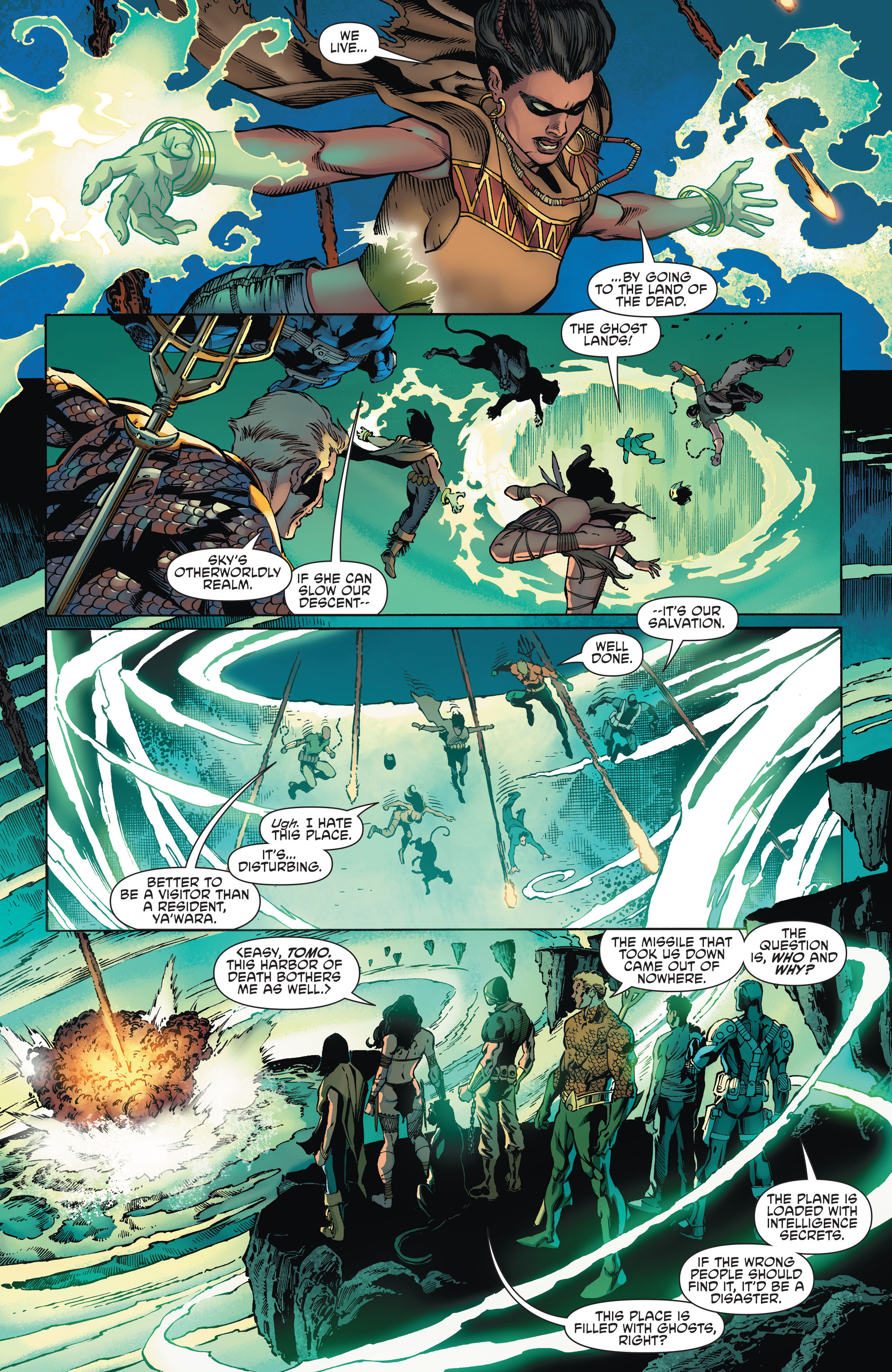 Read online Aquaman and the Others comic -  Issue #2 - 5