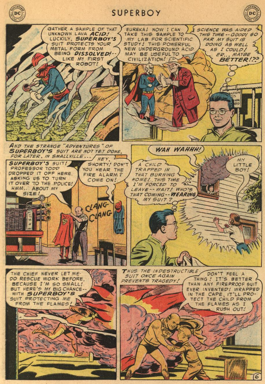 Superboy (1949) issue 44 - Page 7