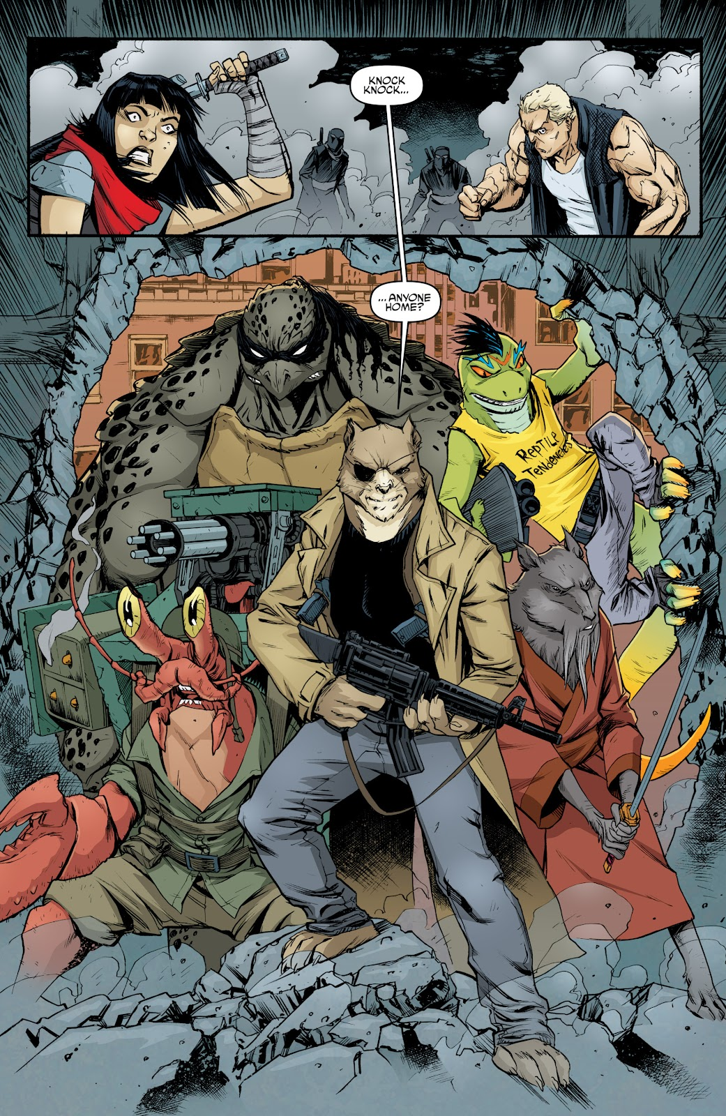 Read online Teenage Mutant Ninja Turtles: The IDW Collection comic -  Issue # TPB 5 (Part 4) - 19