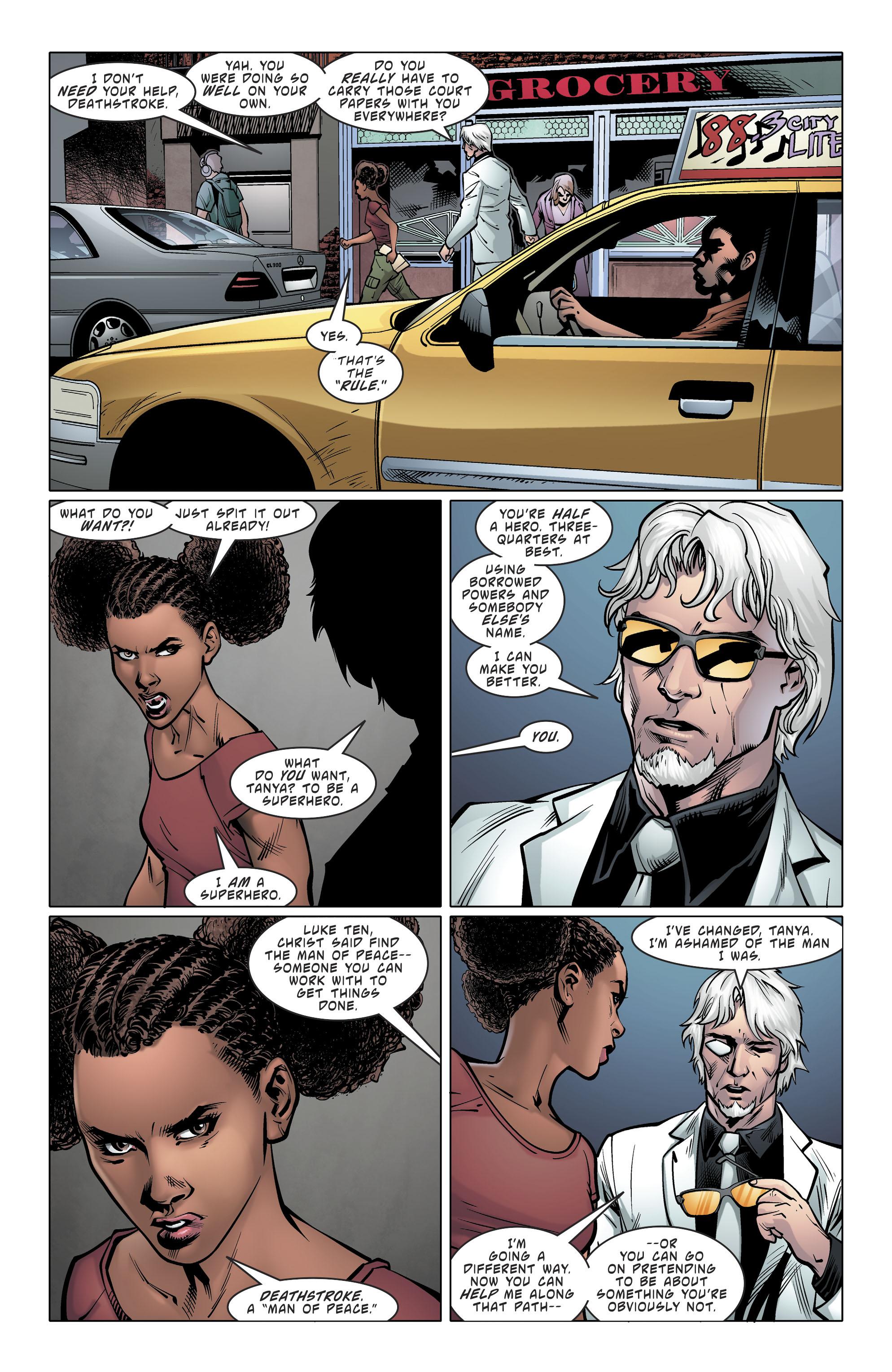 Read online Deathstroke (2016) comic -  Issue #20 - 20