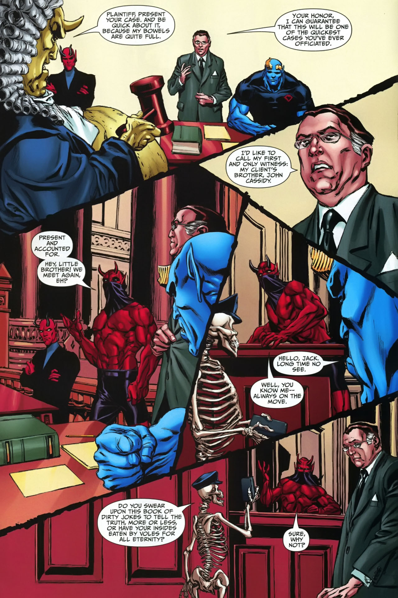 Read online Shadowpact comic -  Issue #23 - 16
