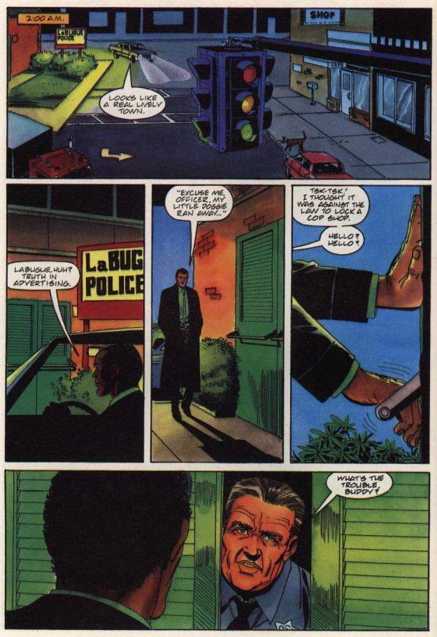 Read online Shadowman (1992) comic -  Issue #36 - 11