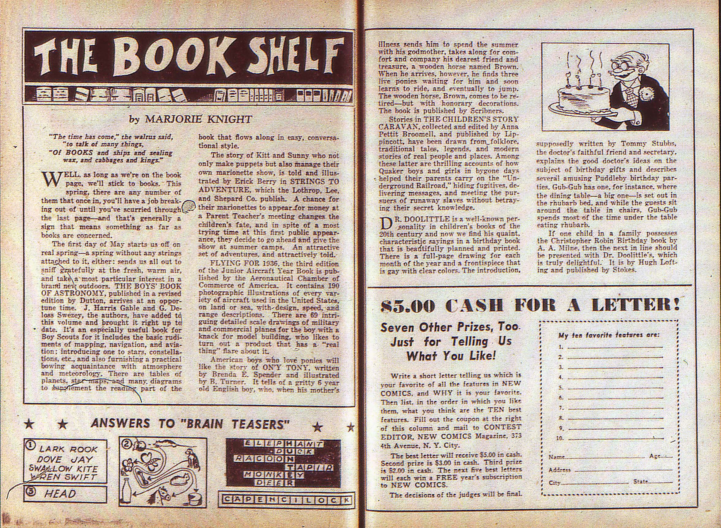Read online Adventure Comics (1938) comic -  Issue #5 - 29