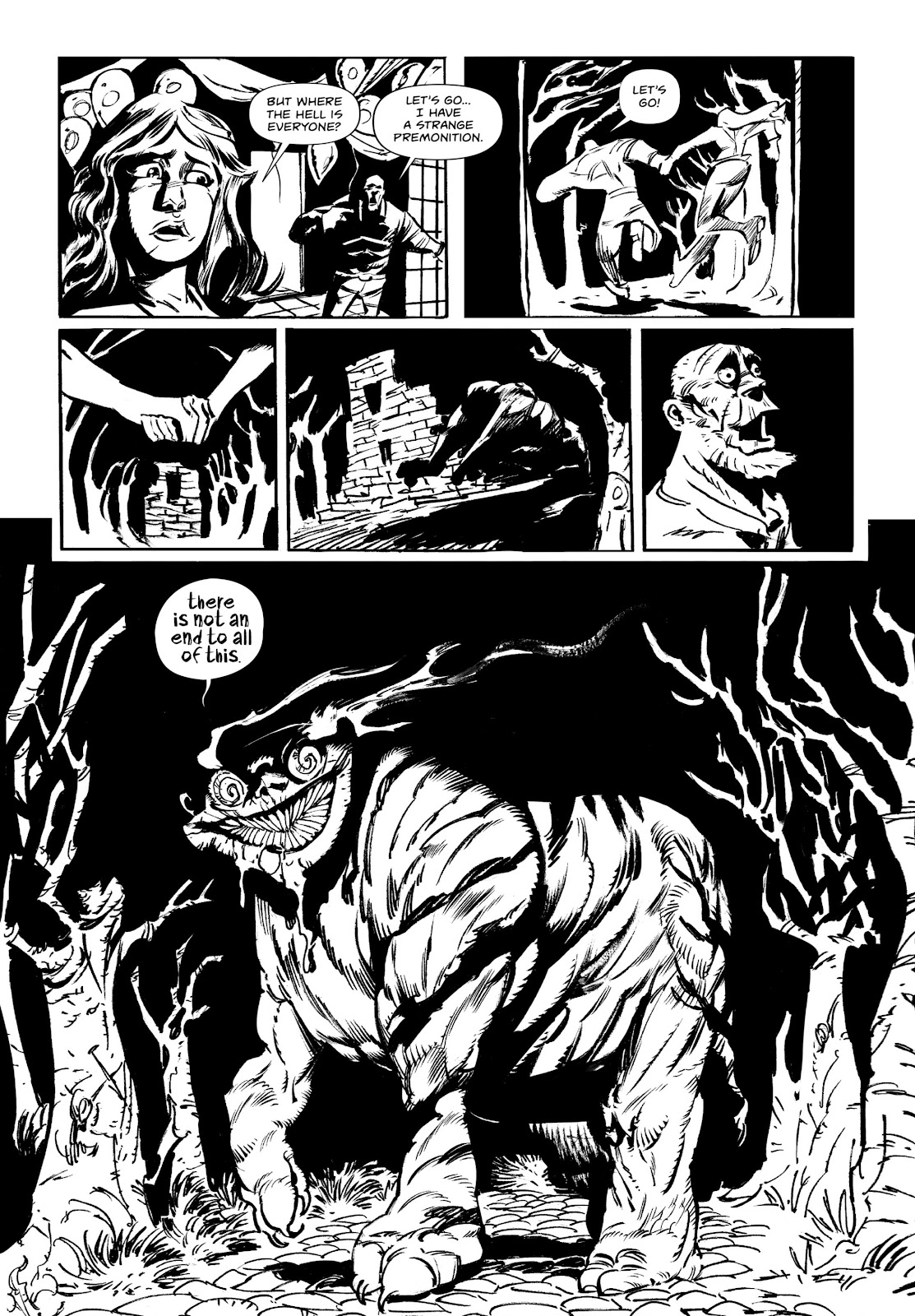 Read online Wrath of God comic -  Issue # _TPB - 50