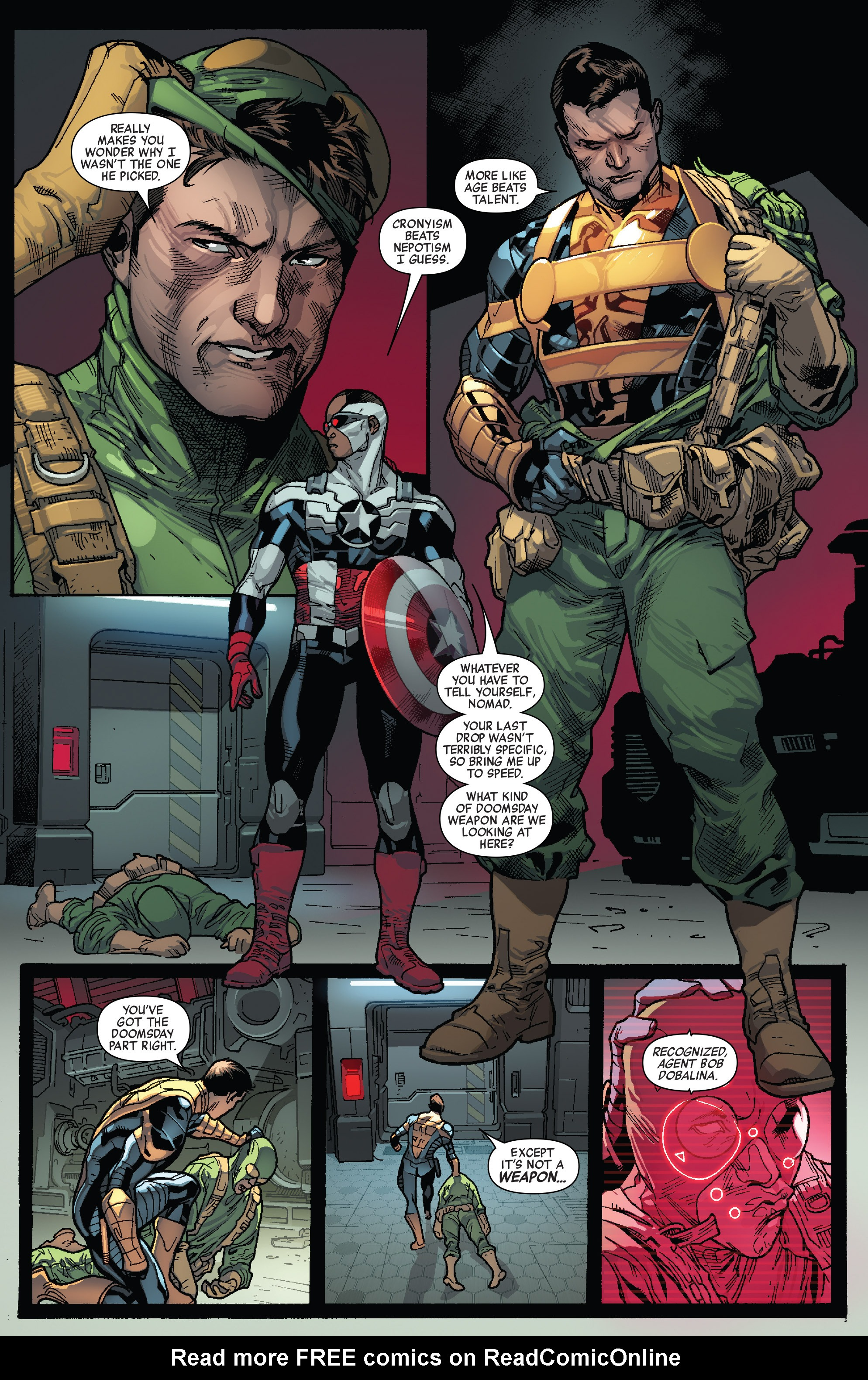 Read online All-New Captain America comic -  Issue #1 - 12