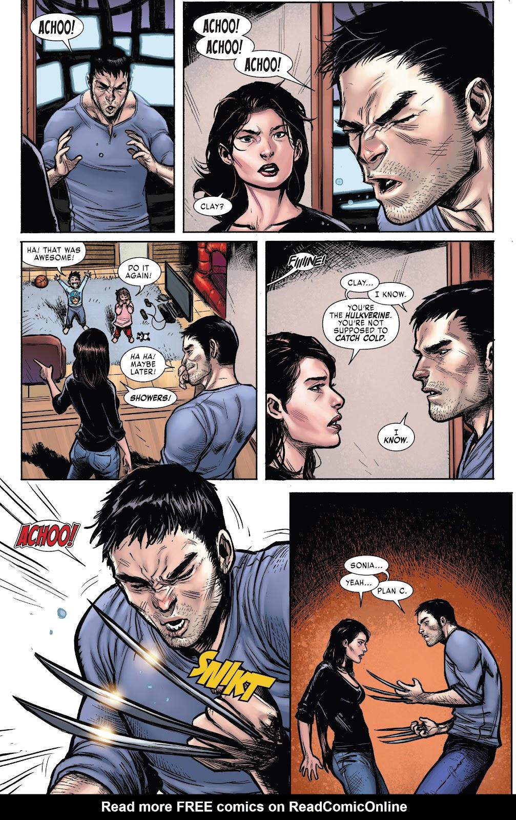 Read online Hulkverines comic -  Issue #1 - 11