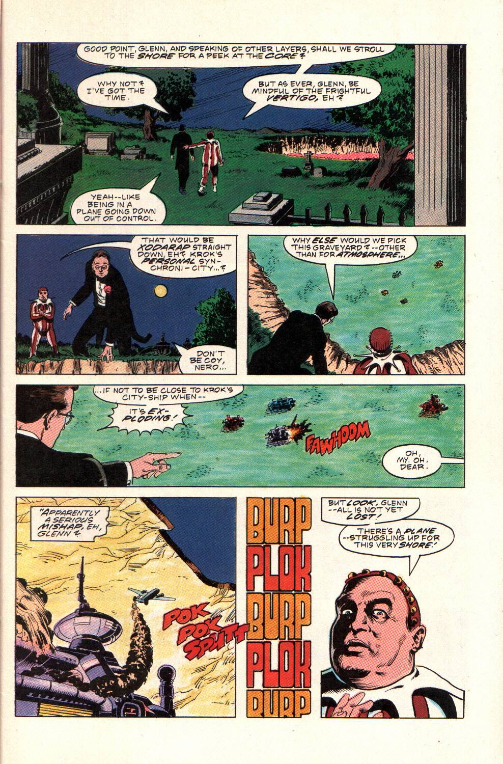 Read online Aztec Ace comic -  Issue #9 - 5