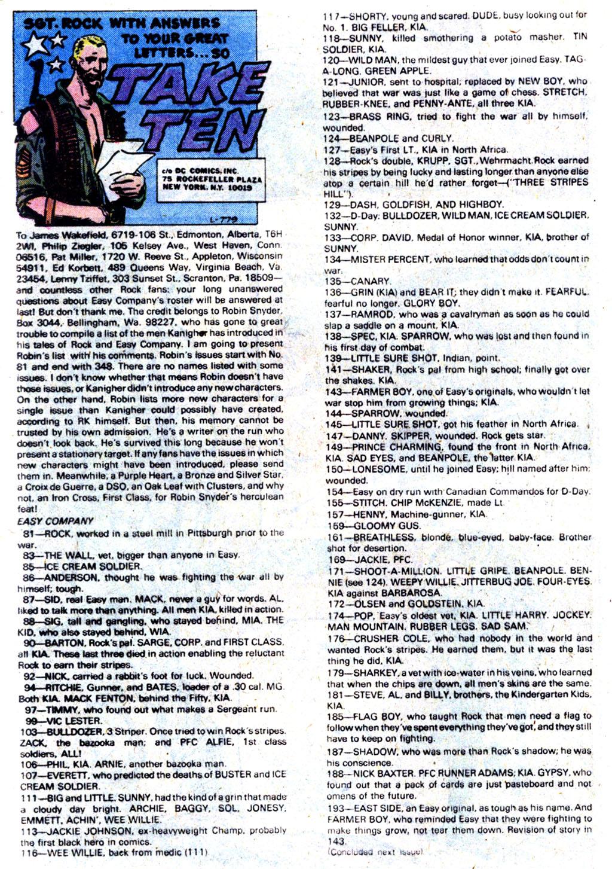 Read online Sgt. Rock comic -  Issue #354 - 16