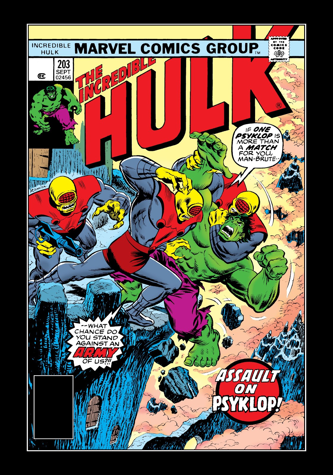 Read online Marvel Masterworks: The Incredible Hulk comic -  Issue # TPB 12 (Part 2) - 55