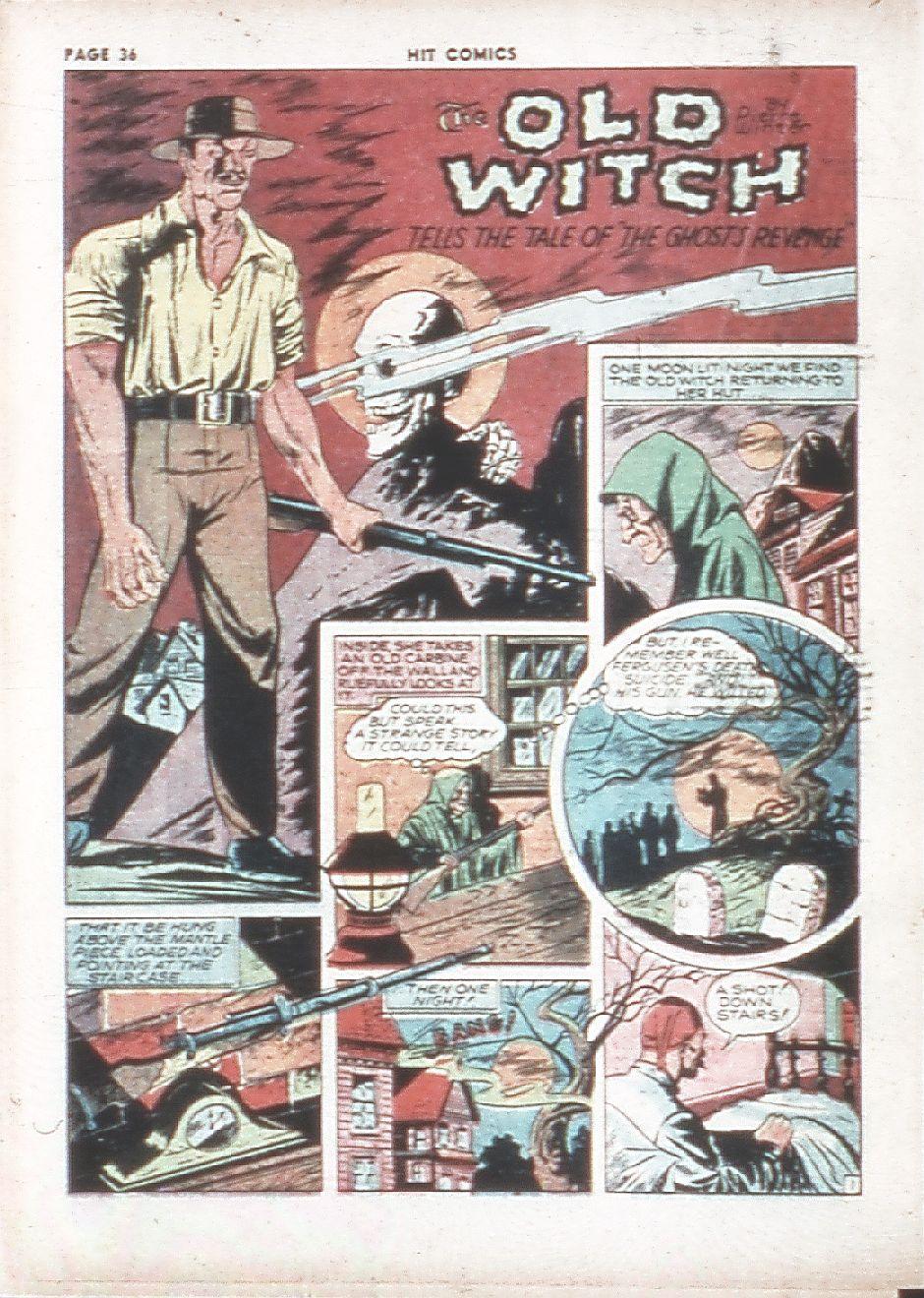 Read online Hit Comics comic -  Issue #7 - 38