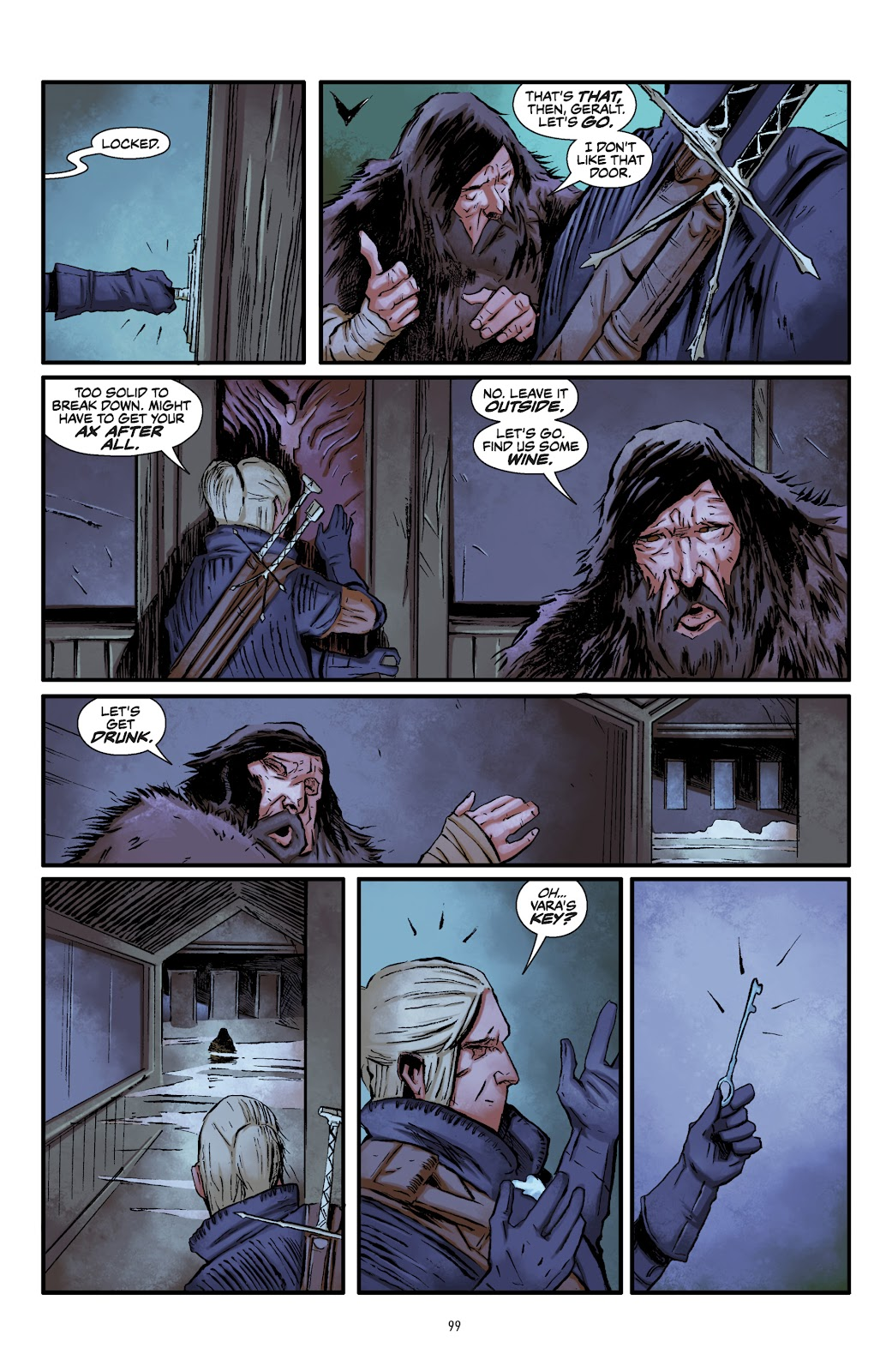 Read online The Witcher Omnibus comic -  Issue # TPB (Part 2) - 2