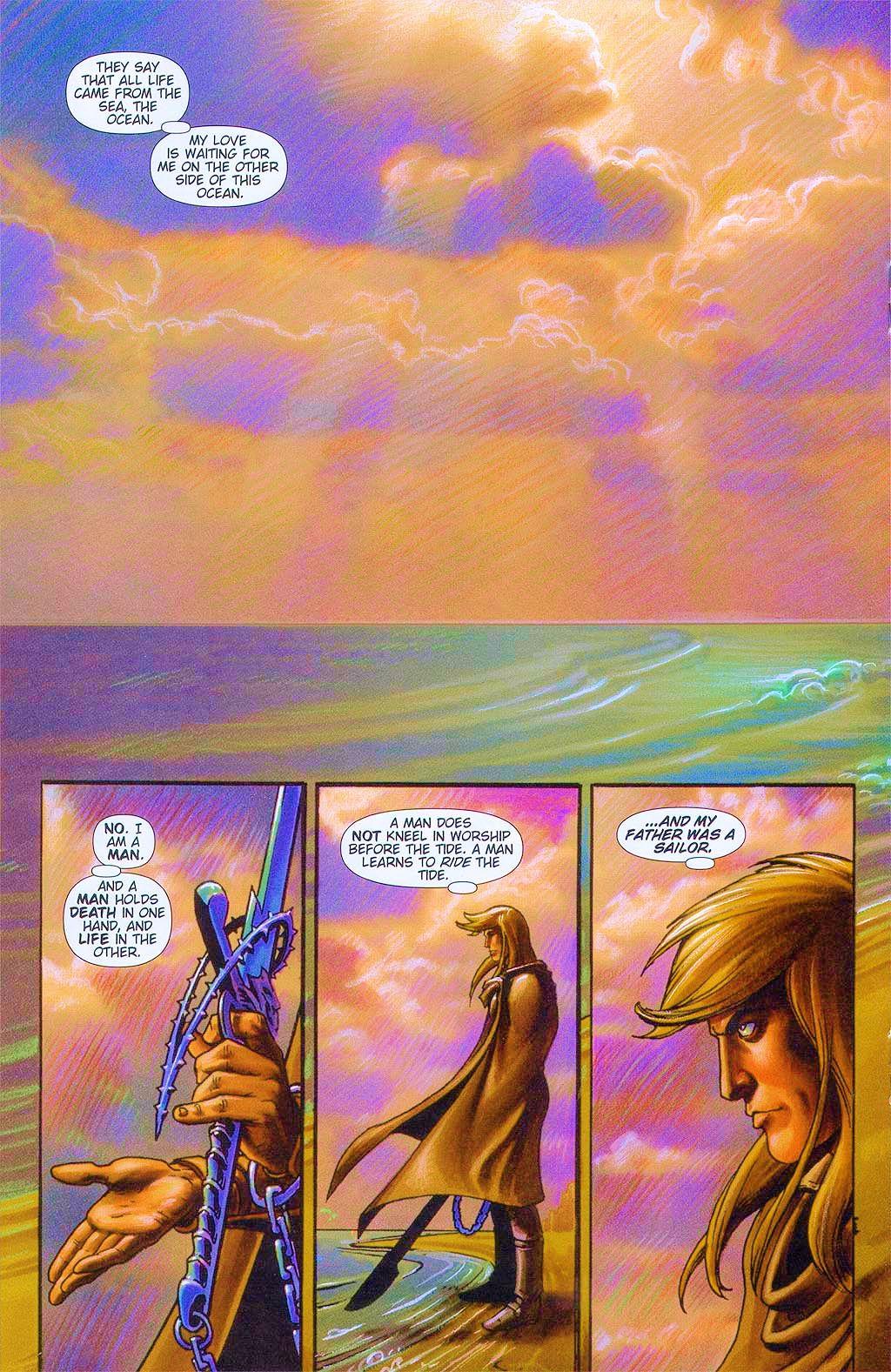 Read online Dawn: Three Tiers comic -  Issue #6 - 18
