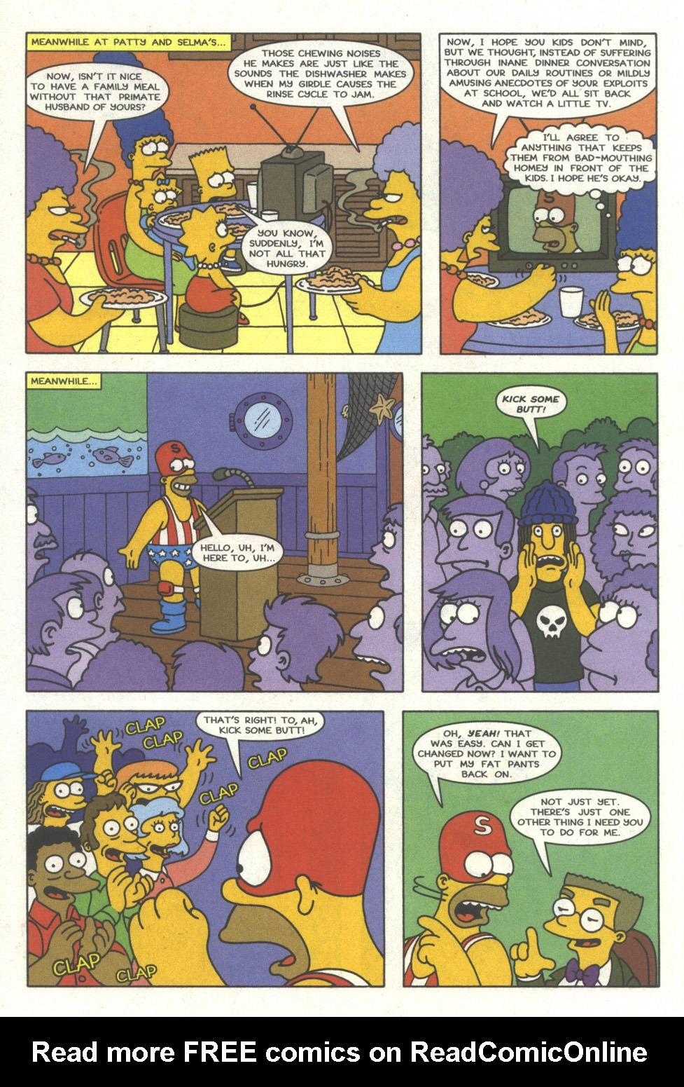 Read online Simpsons Comics comic -  Issue #29 - 11