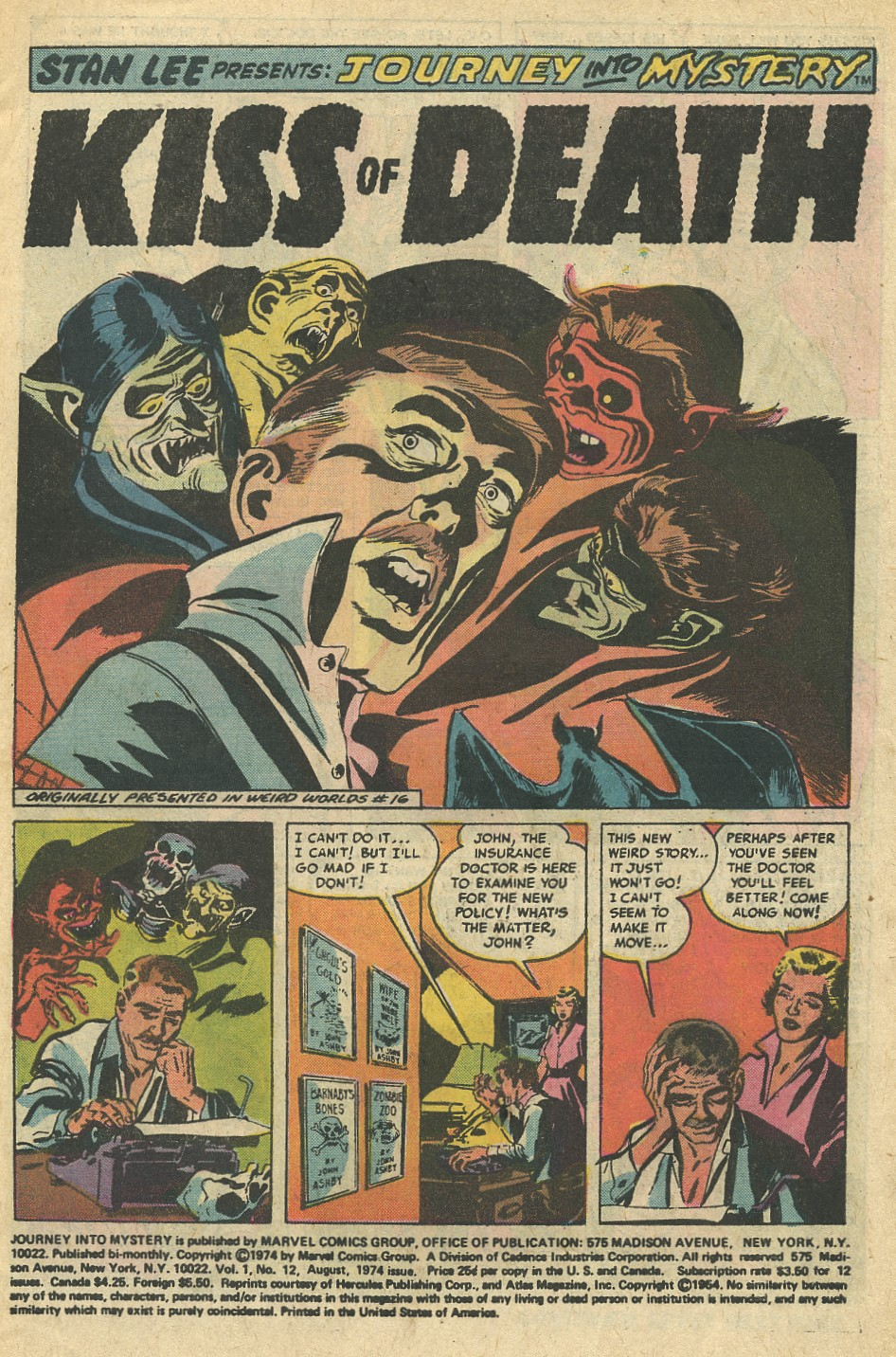 Journey Into Mystery (1972) issue 12 - Page 3