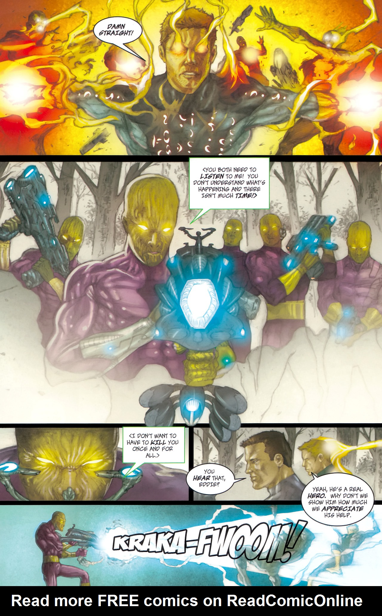 Read online Phoenix comic -  Issue #6 - 7
