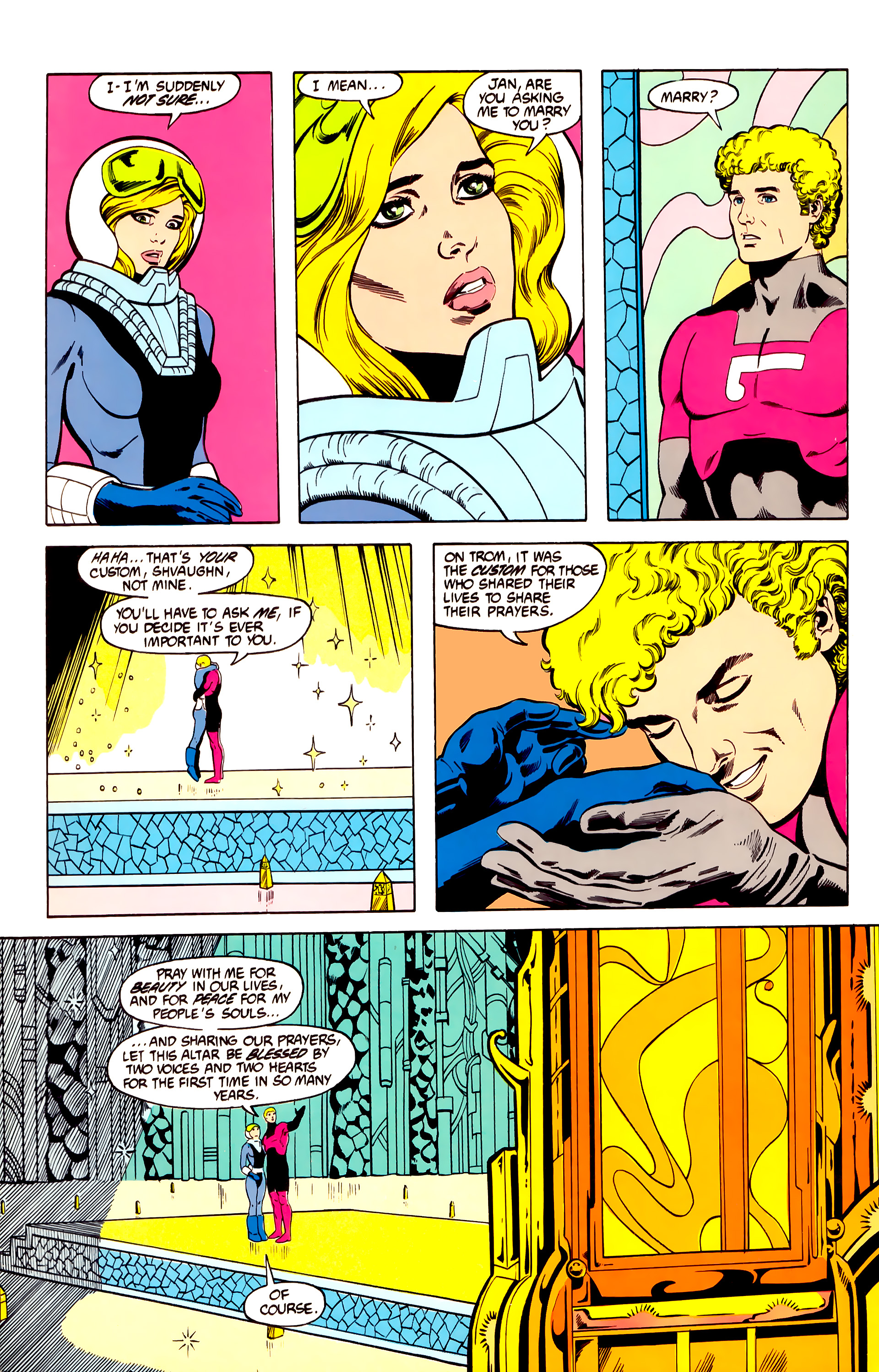 Legion of Super-Heroes (1984) 27 Page 10