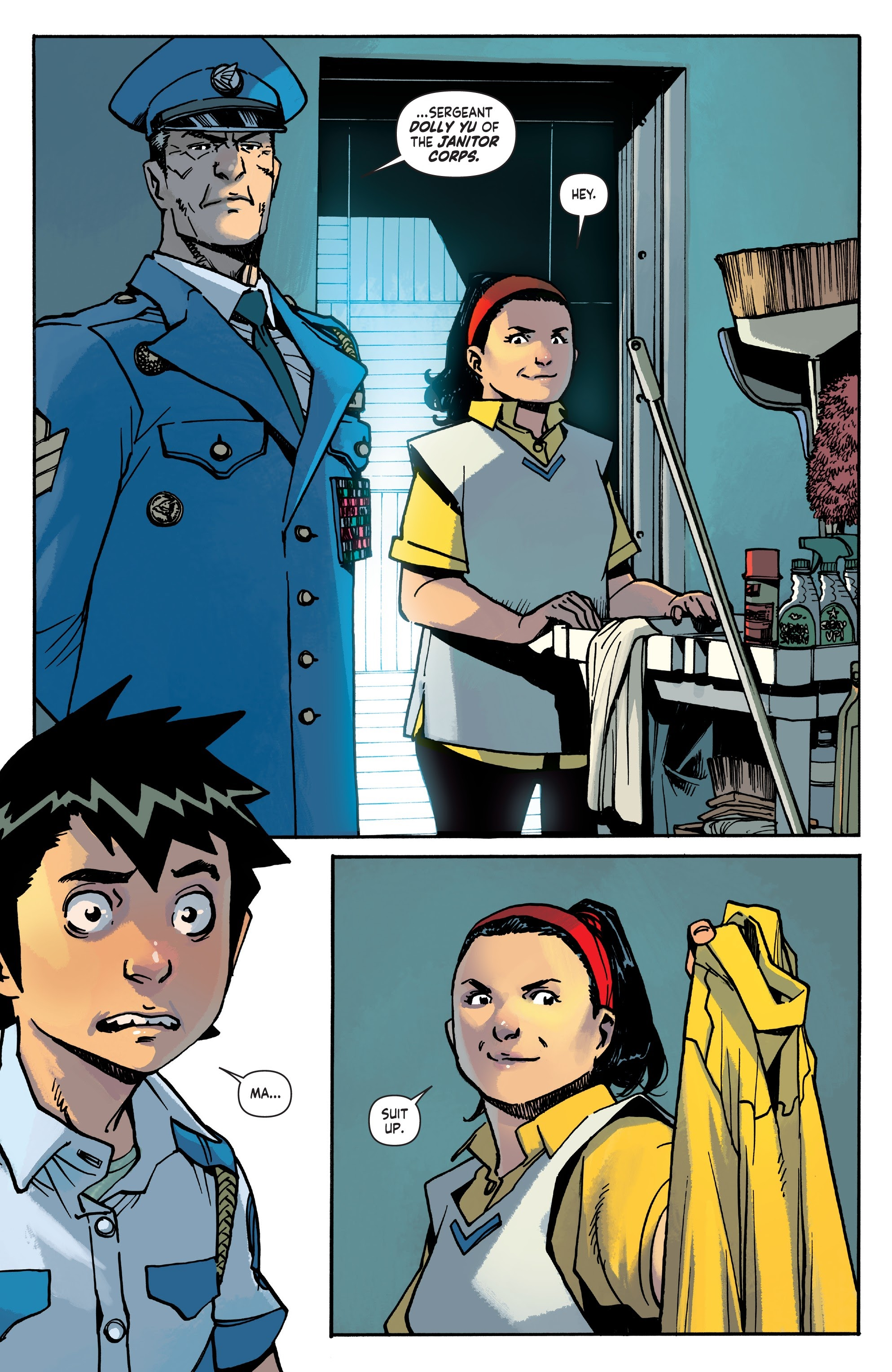 Mech Cadet Yu #_TPB_2 #15 - English 9