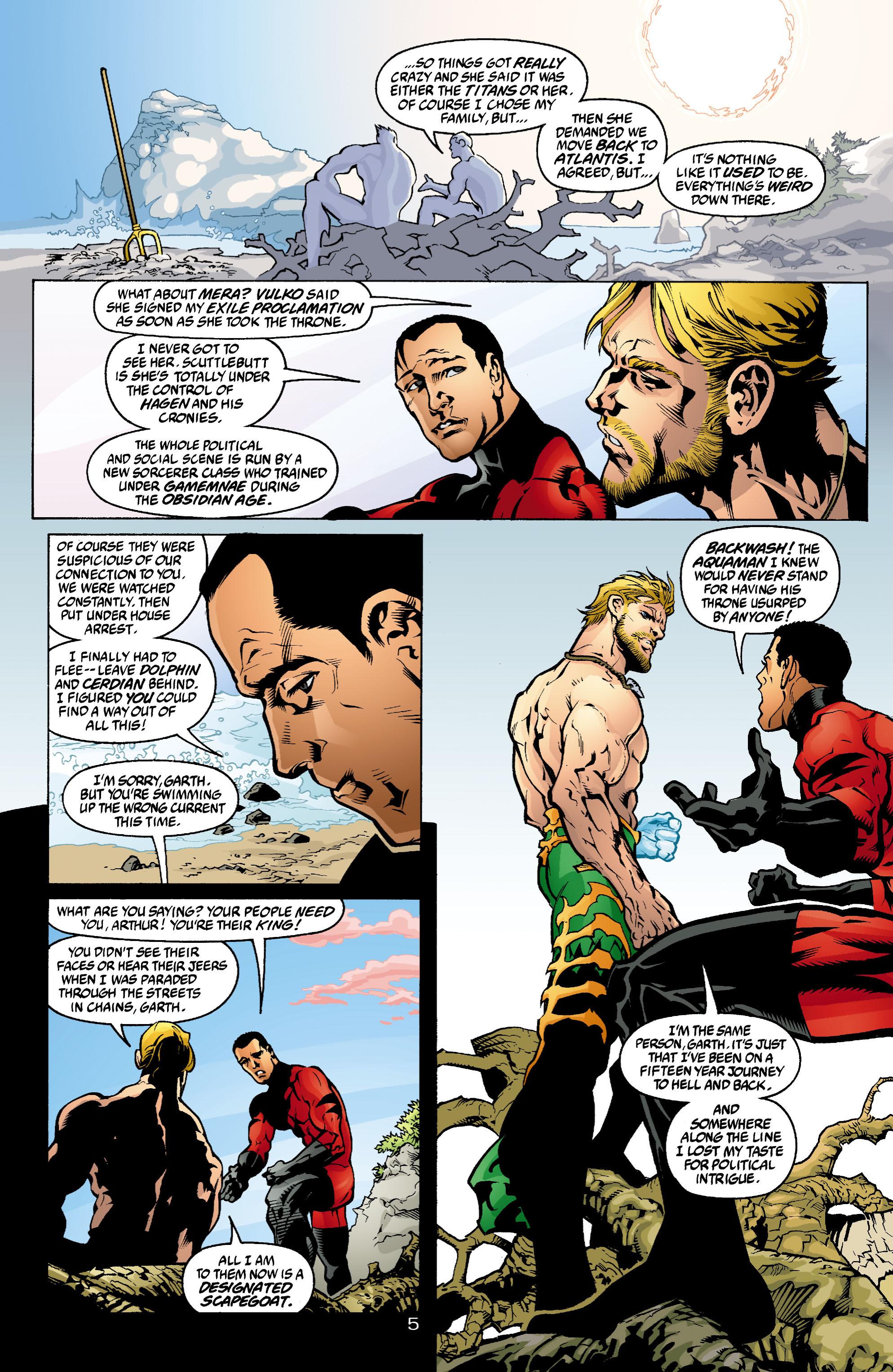 Read online Aquaman (2003) comic -  Issue #4 - 6