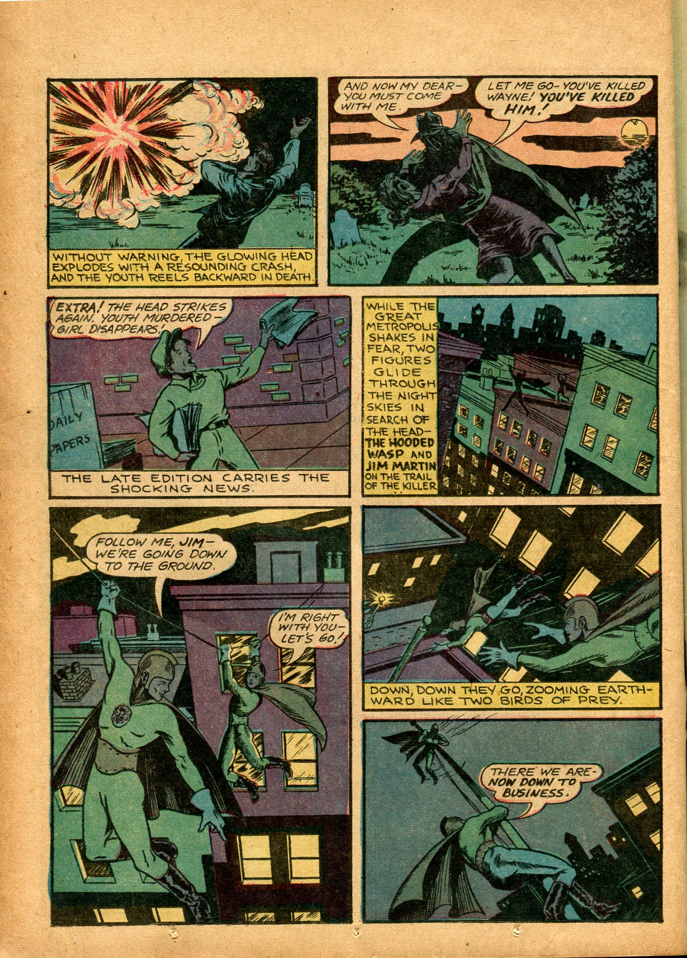 Read online Shadow Comics comic -  Issue #8 - 24
