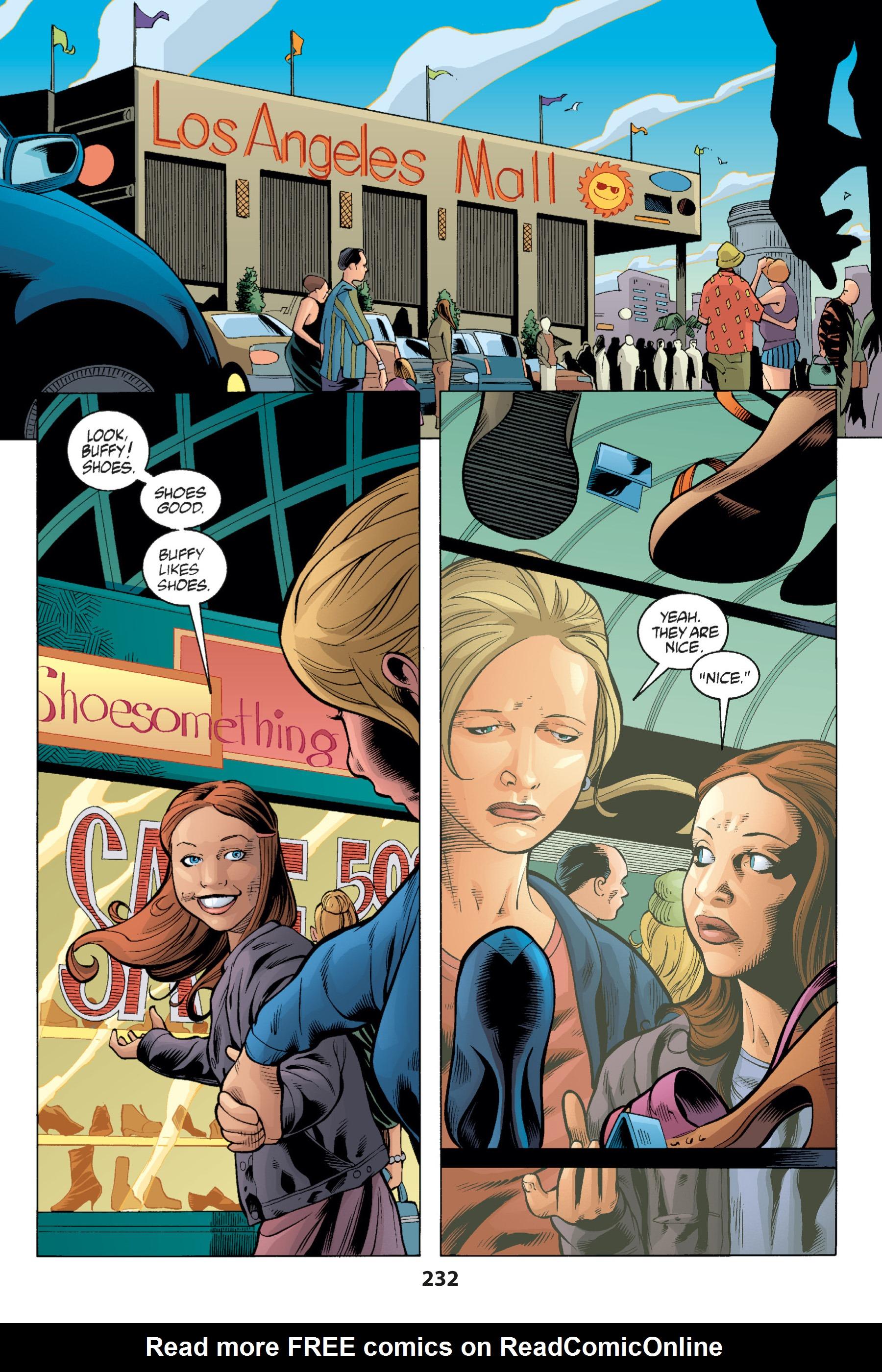 Read online Buffy the Vampire Slayer: Omnibus comic -  Issue # TPB 1 - 227