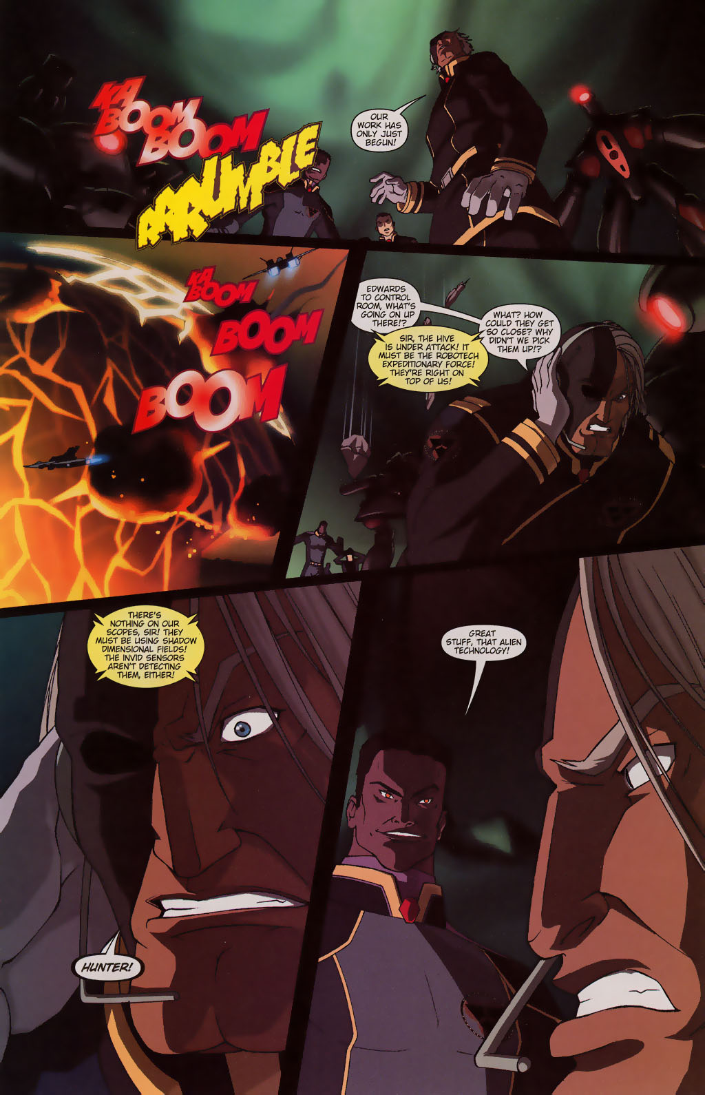 Read online Robotech: Prelude to the Shadow Chronicles comic -  Issue #3 - 19