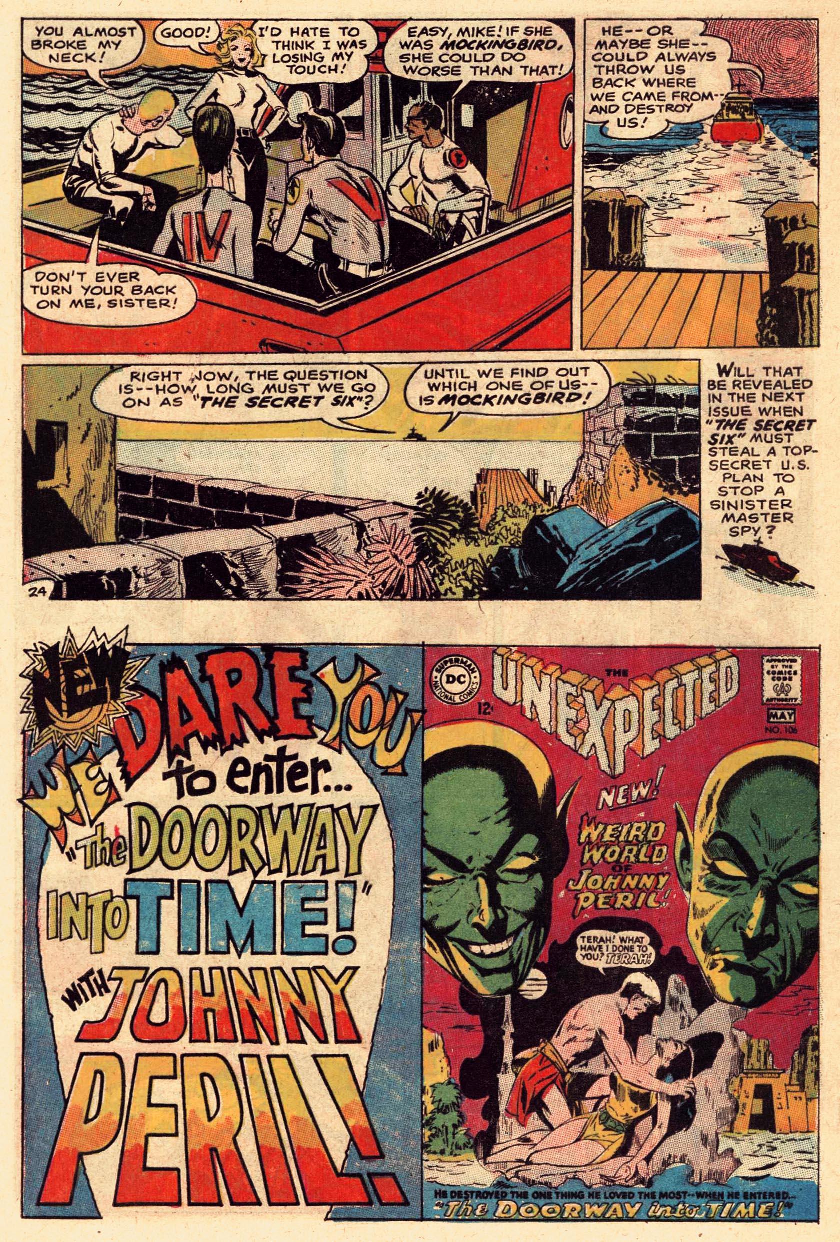 Read online Secret Six (1968) comic -  Issue #1 - 32