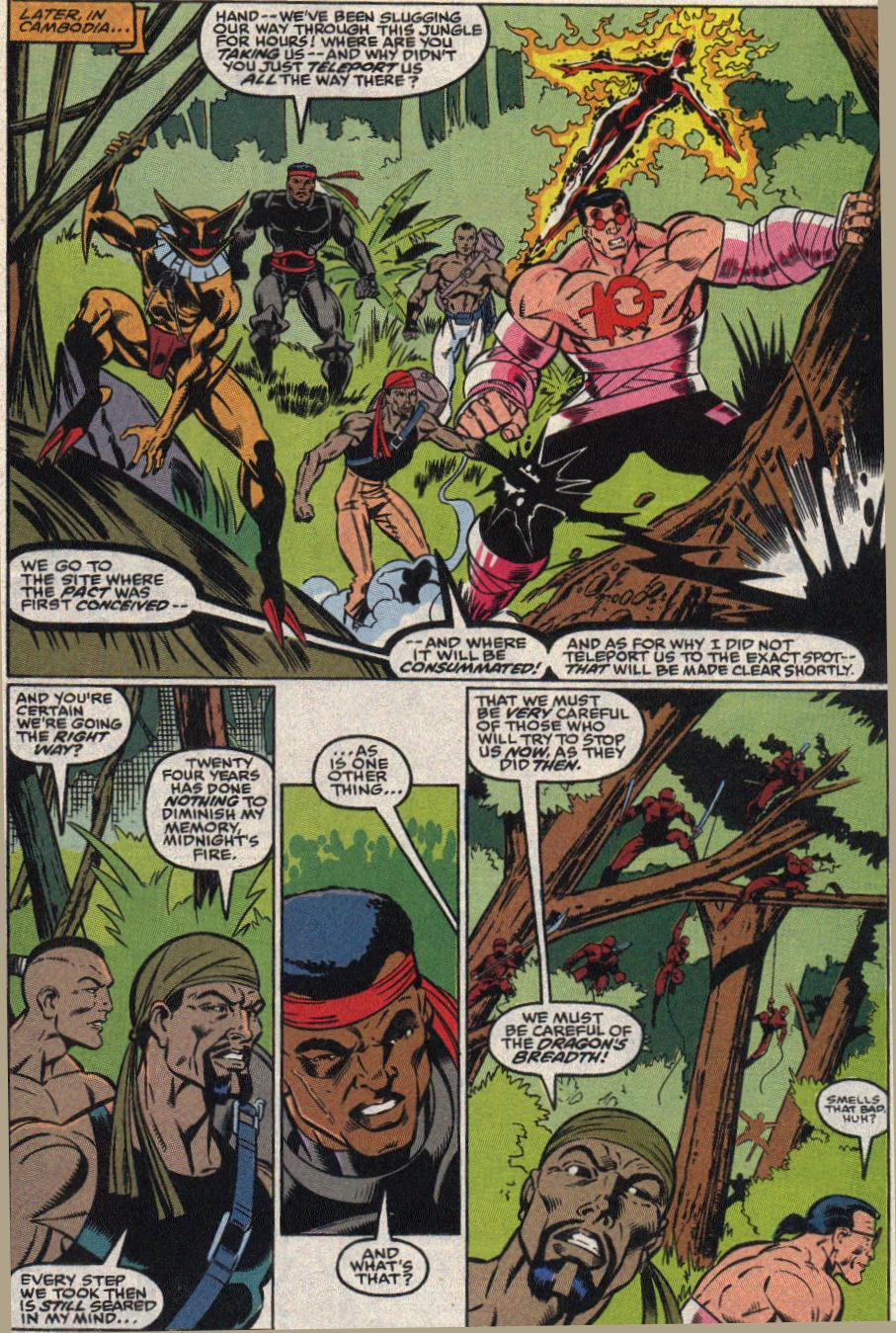 The New Warriors Issue #22 #26 - English 10