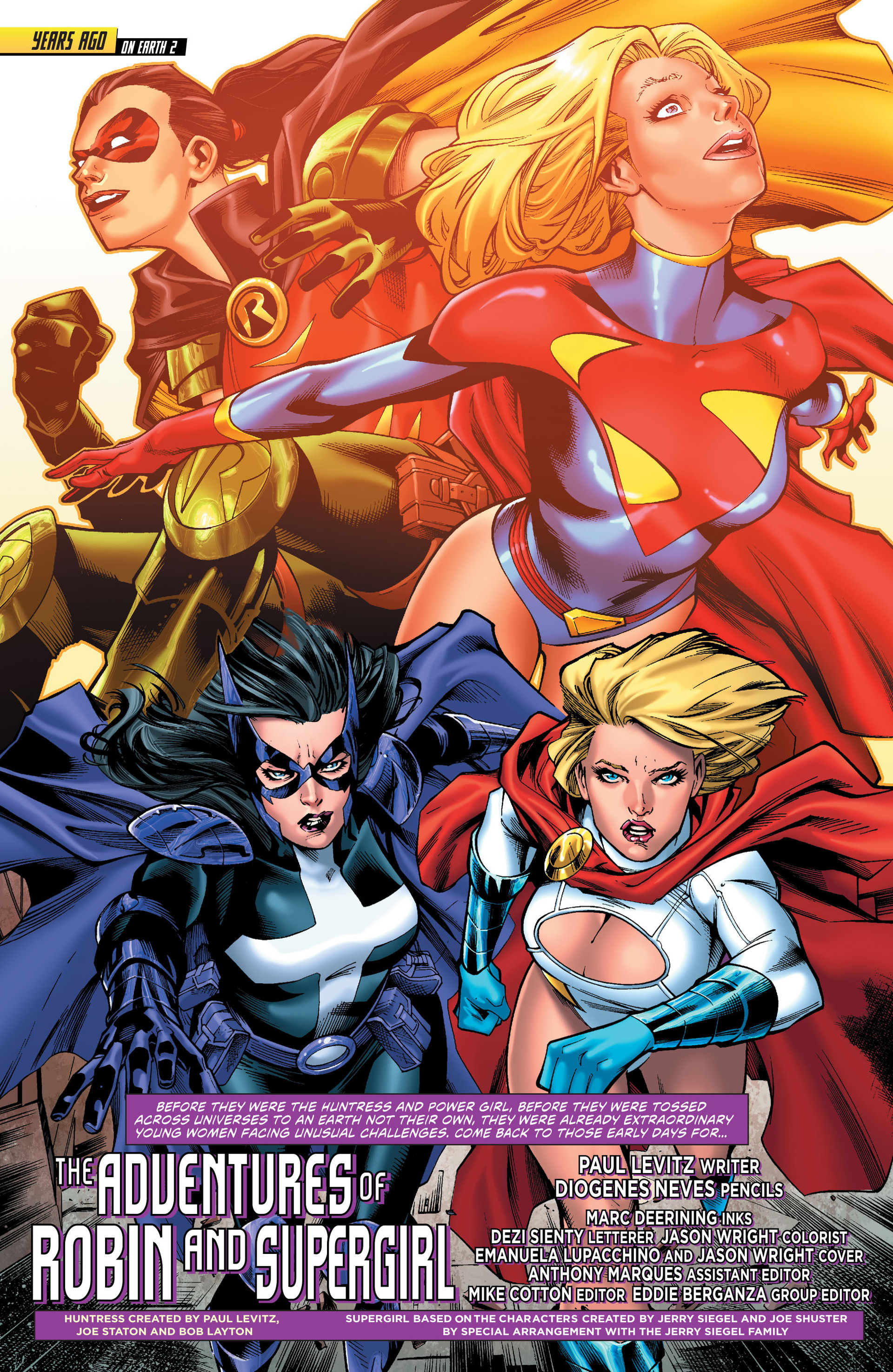 Read online Worlds' Finest comic -  Issue # _Annual 1 - 2