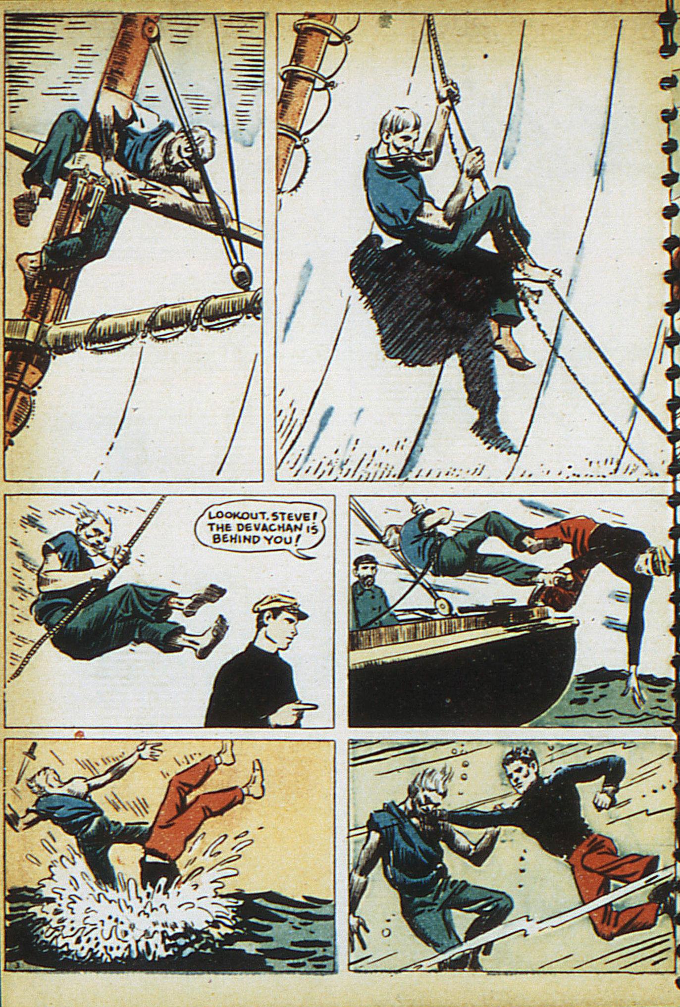 Read online Adventure Comics (1938) comic -  Issue #15 - 18