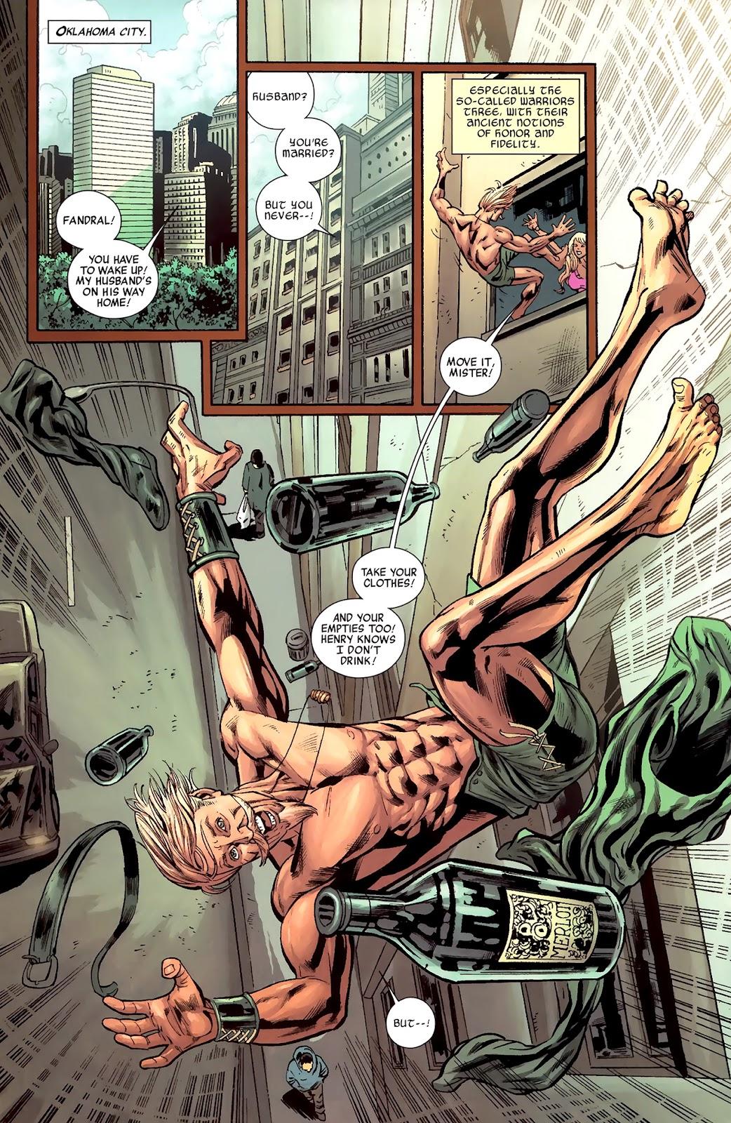 Warriors Three Issue #1 #1 - English 4